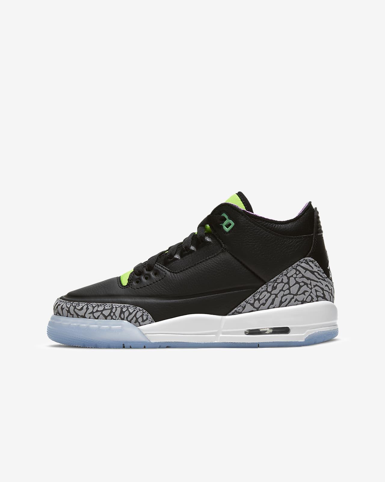 Air Jordan 3 Retro SE Big Kids' Shoe