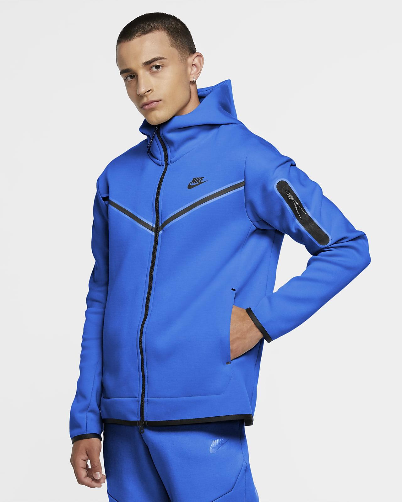Nike Sportswear Tech Fleece-hættetrøje med lynlås til mænd