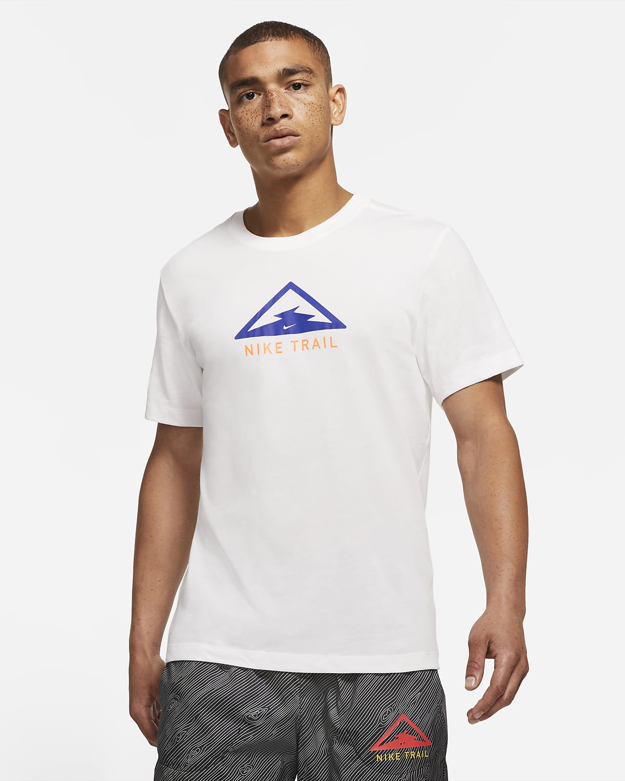 Мужская футболка для трейлраннинга Nike Dri-FIT Trail