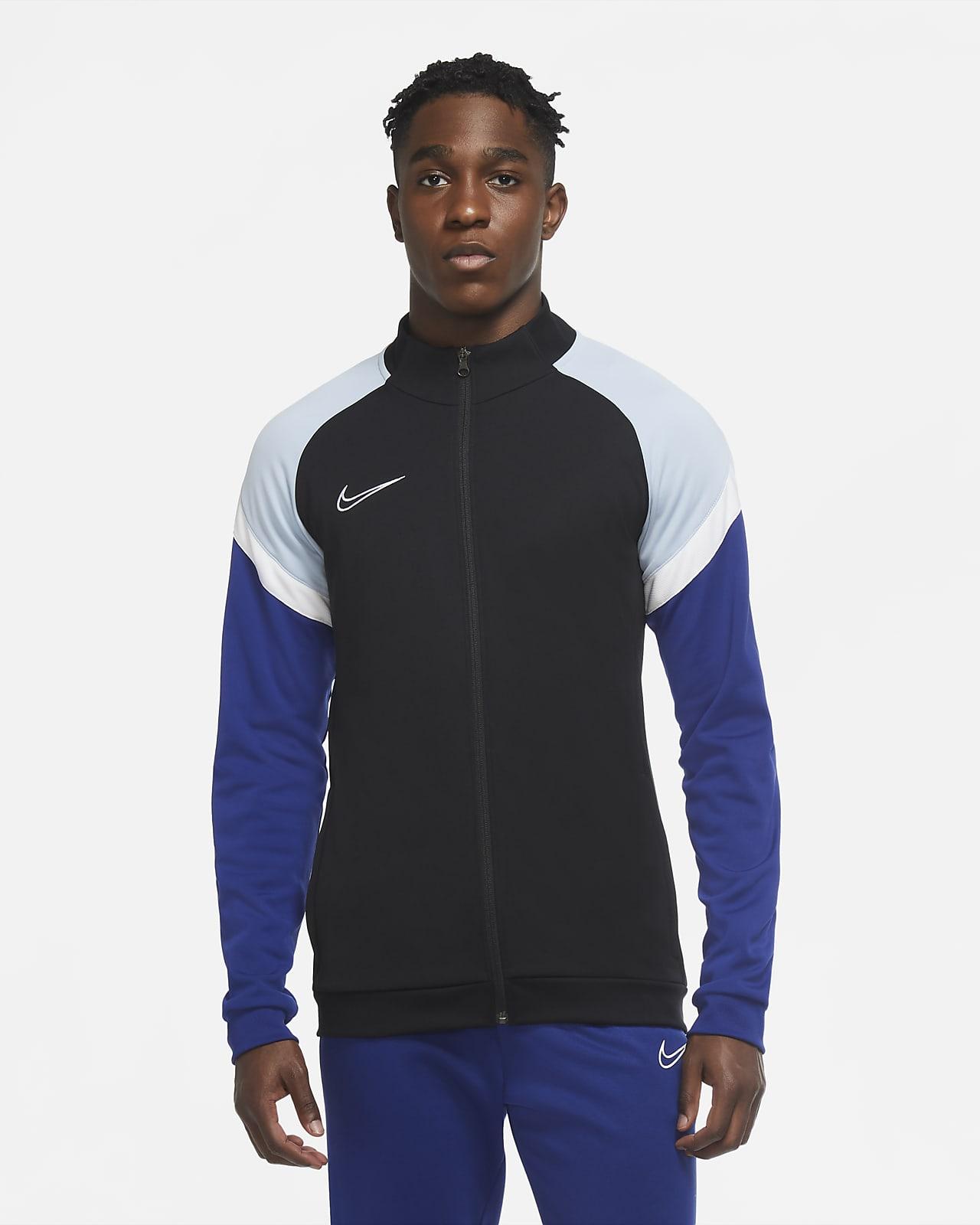 Stickad fotbollsjacka Nike Dri-FIT Academy för män