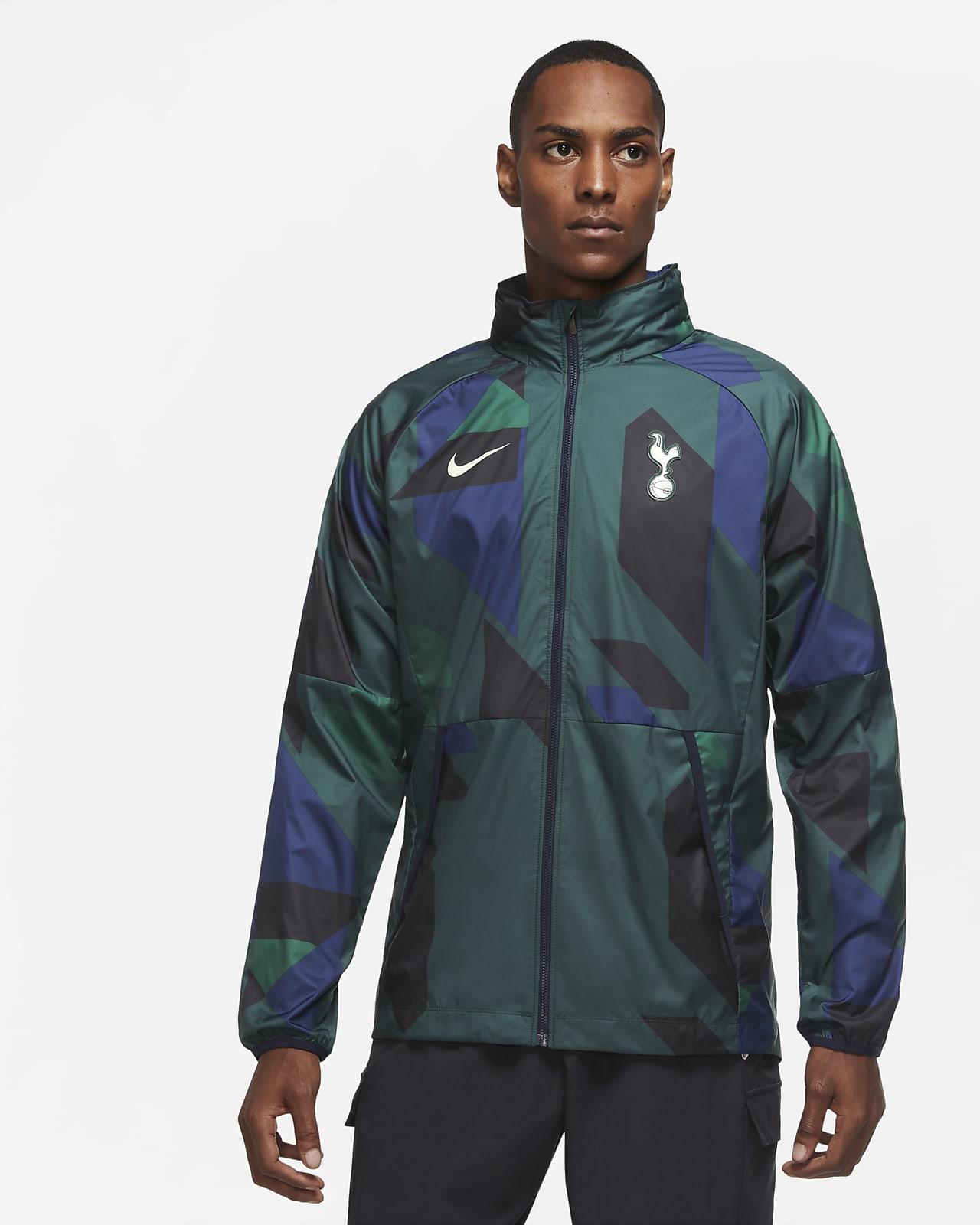 Tottenham Hotspur-fodboldjakke med grafik til mænd