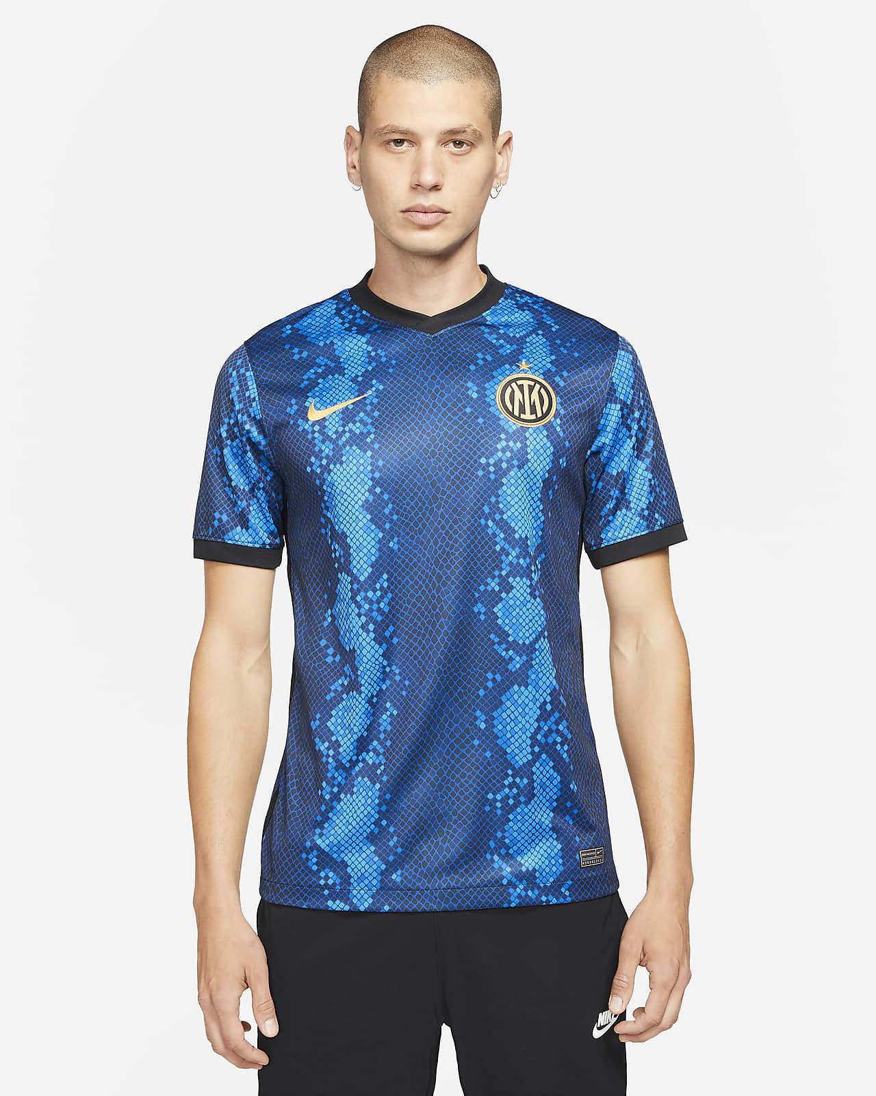 Inter Milan 2021/22 Stadium Home Men's Nike Dri-FIT Soccer Jersey