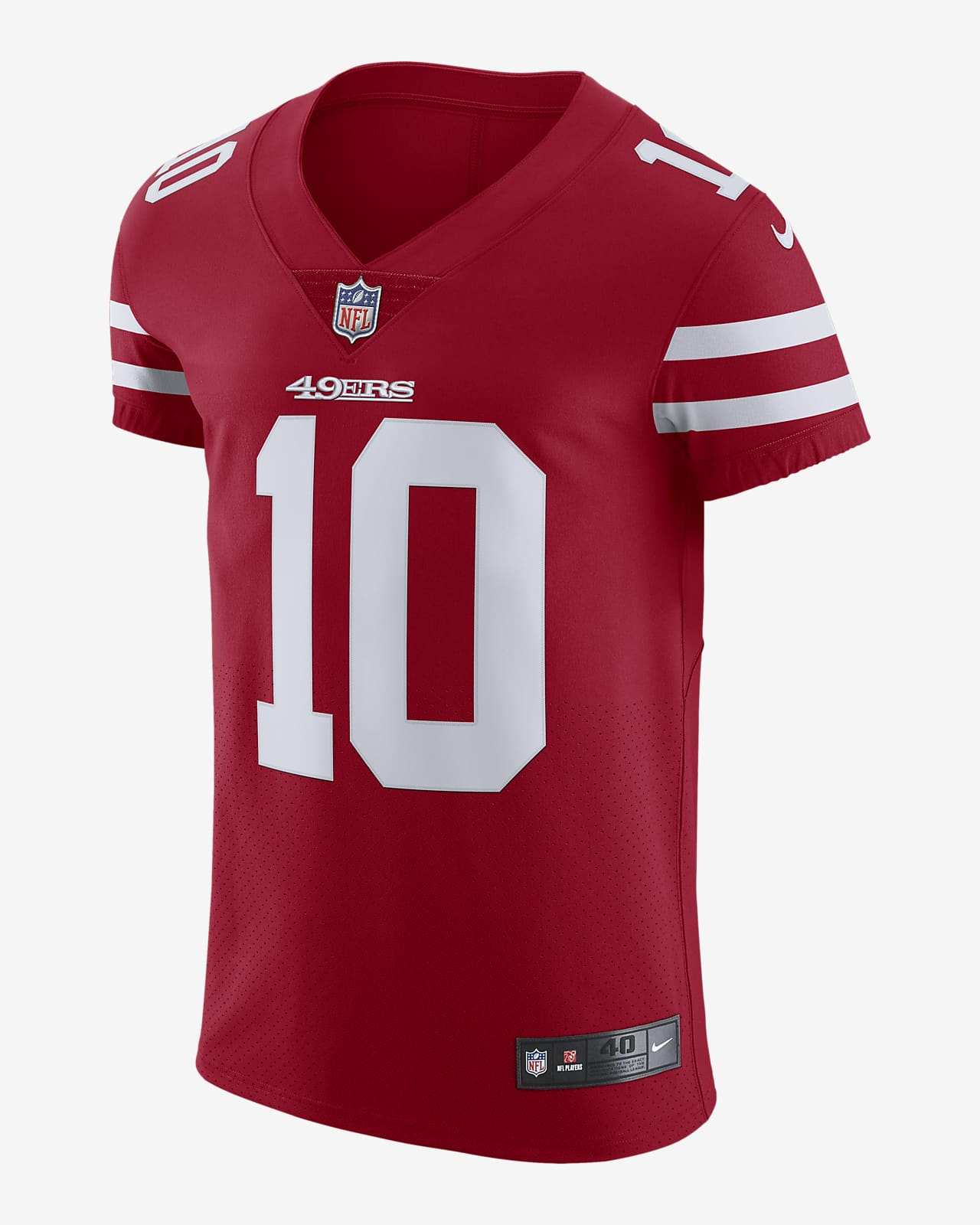 NFL San Francisco 49ers (Jimmy Garoppolo) Men's Elite Vapor Untouchable Football Jersey