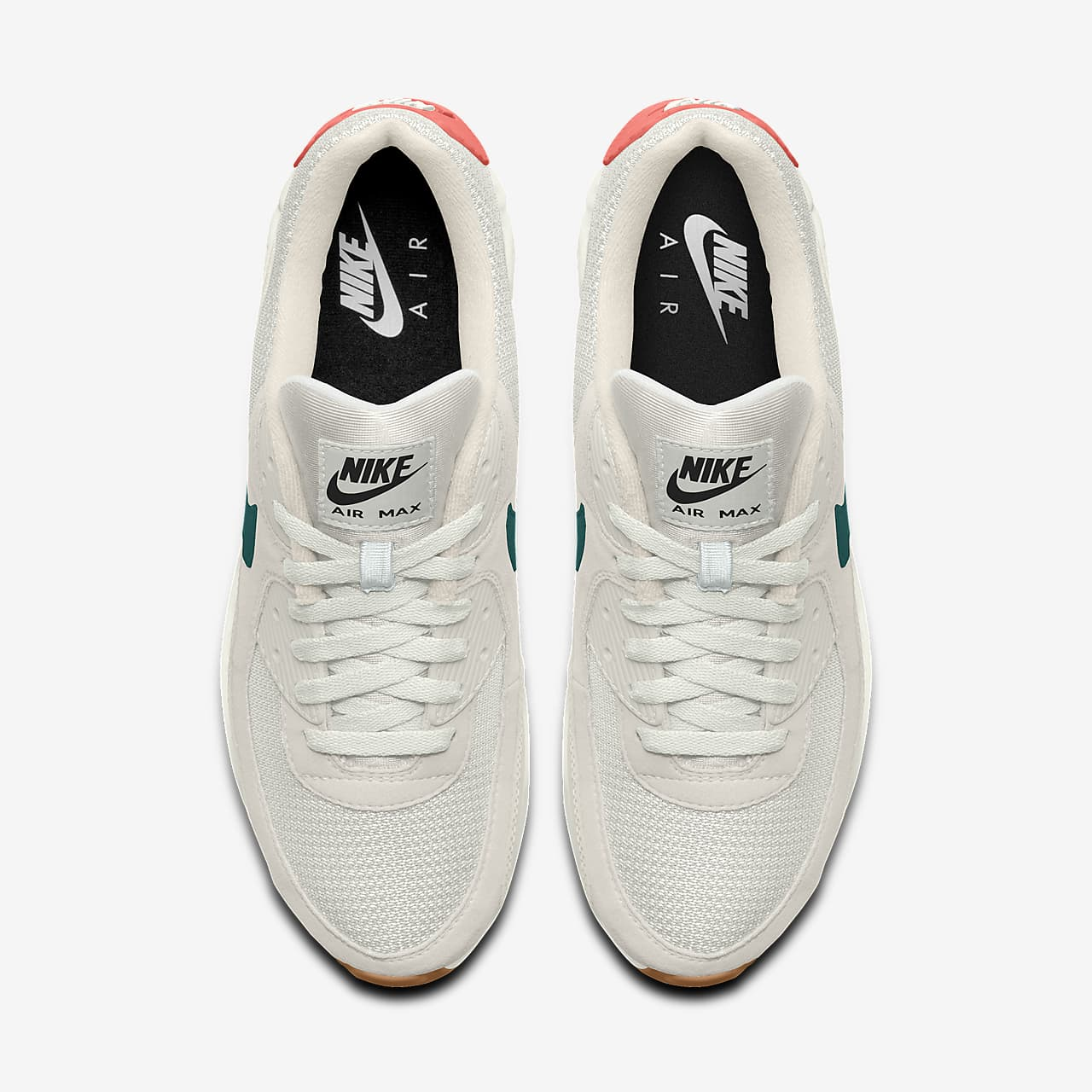 Chaussure personnalisable Nike Air Max 90 By You pour Femme