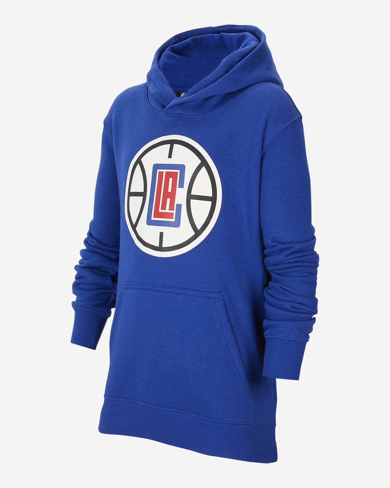 LA Clippers Essential Nike NBA-Hoodie für ältere Kinder