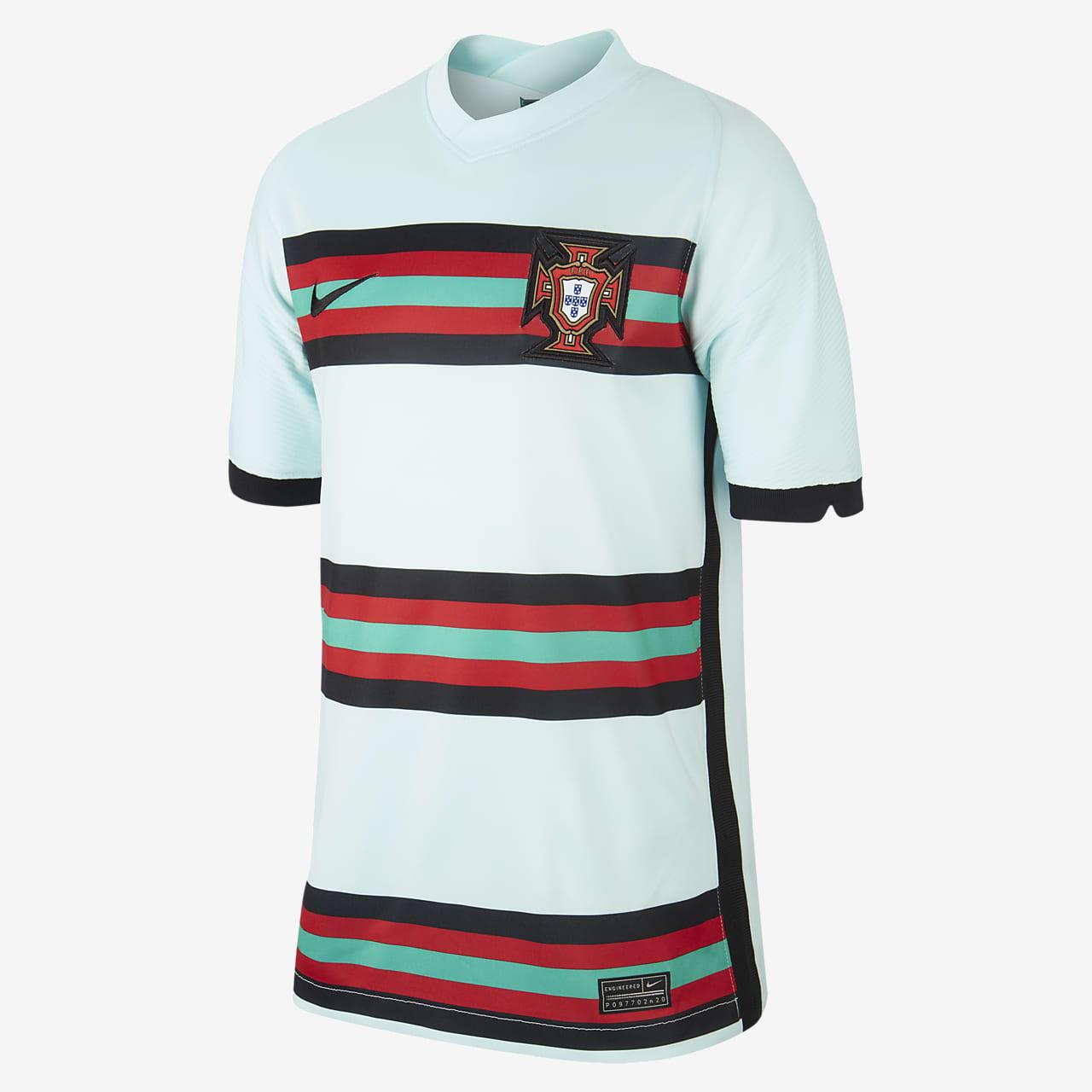 Portugal 2020 Stadium Away Older Kids' Football Shirt