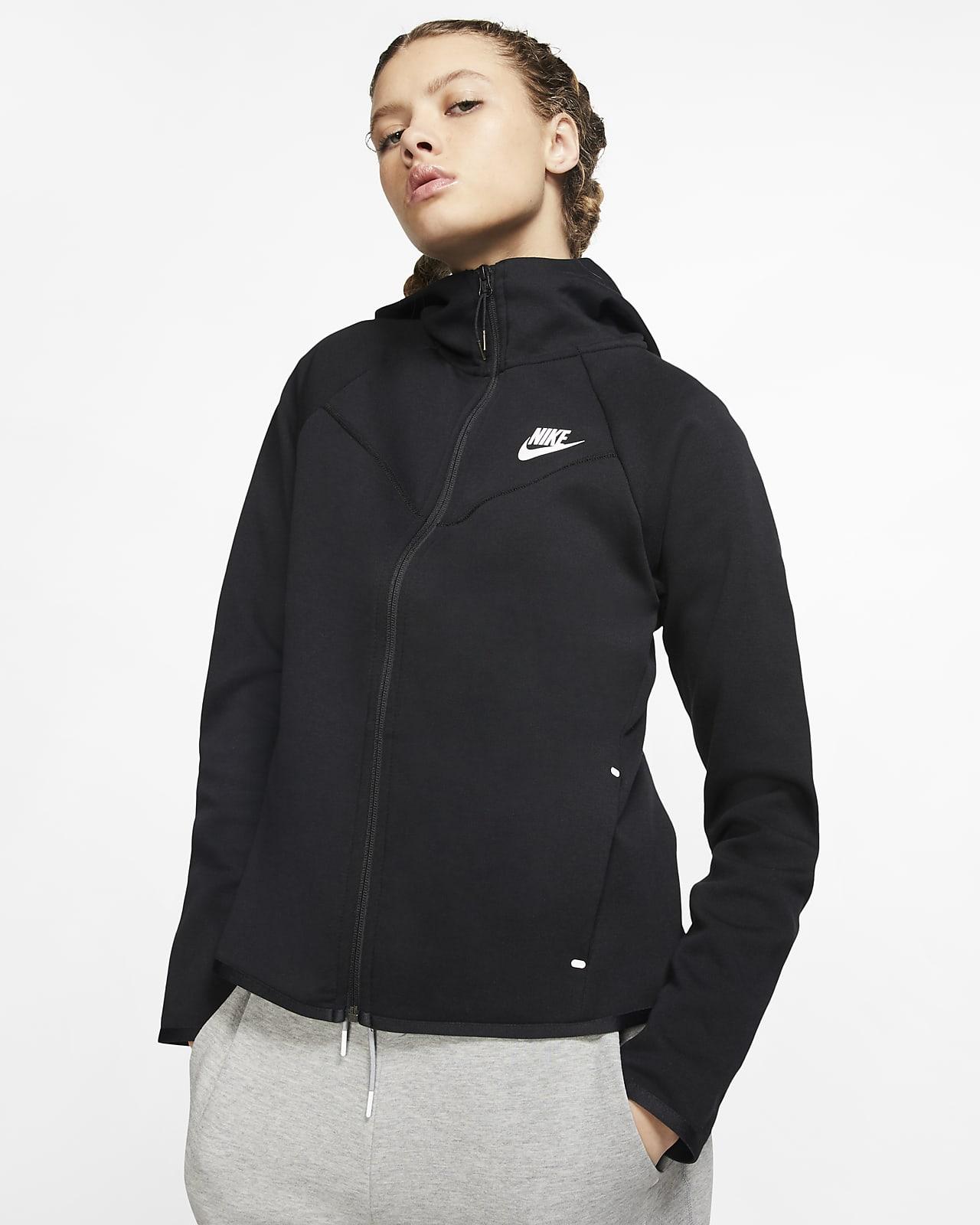Nike Sportswear Windrunner Tech Fleece Hoodie met rits voor dames