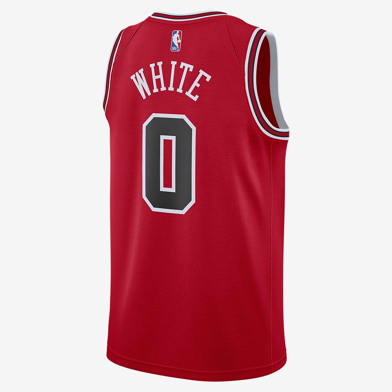 Camiseta conectada Nike NBA para hombre Icon Edition Swingman (Chicago  Bulls)
