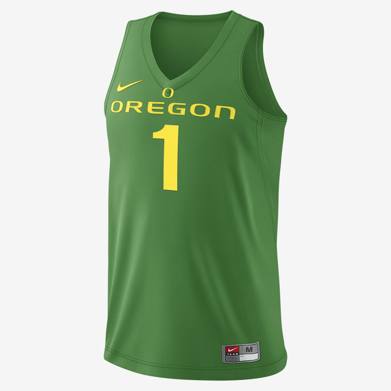 Nike College Authentic (Oregon) Men's Basketball Jersey