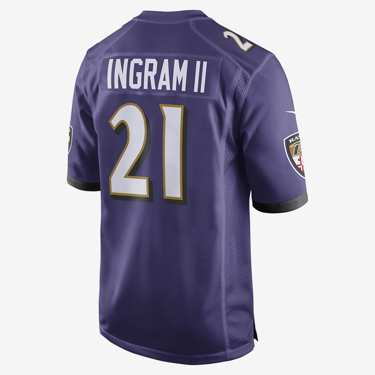 Nfl Baltimore Ravens Mark Ingram Jr Men S Game Football Jersey Nike Com
