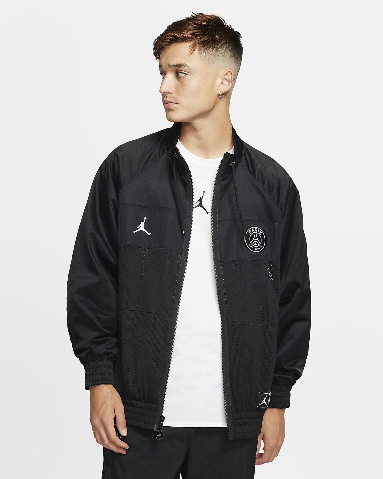 Paris Saint Germain Men's Coach Jacket. Nike NO
