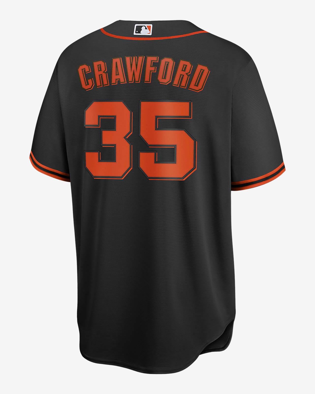 MLB San Francisco Giants (Brandon Crawford) Men's Replica Baseball Jersey