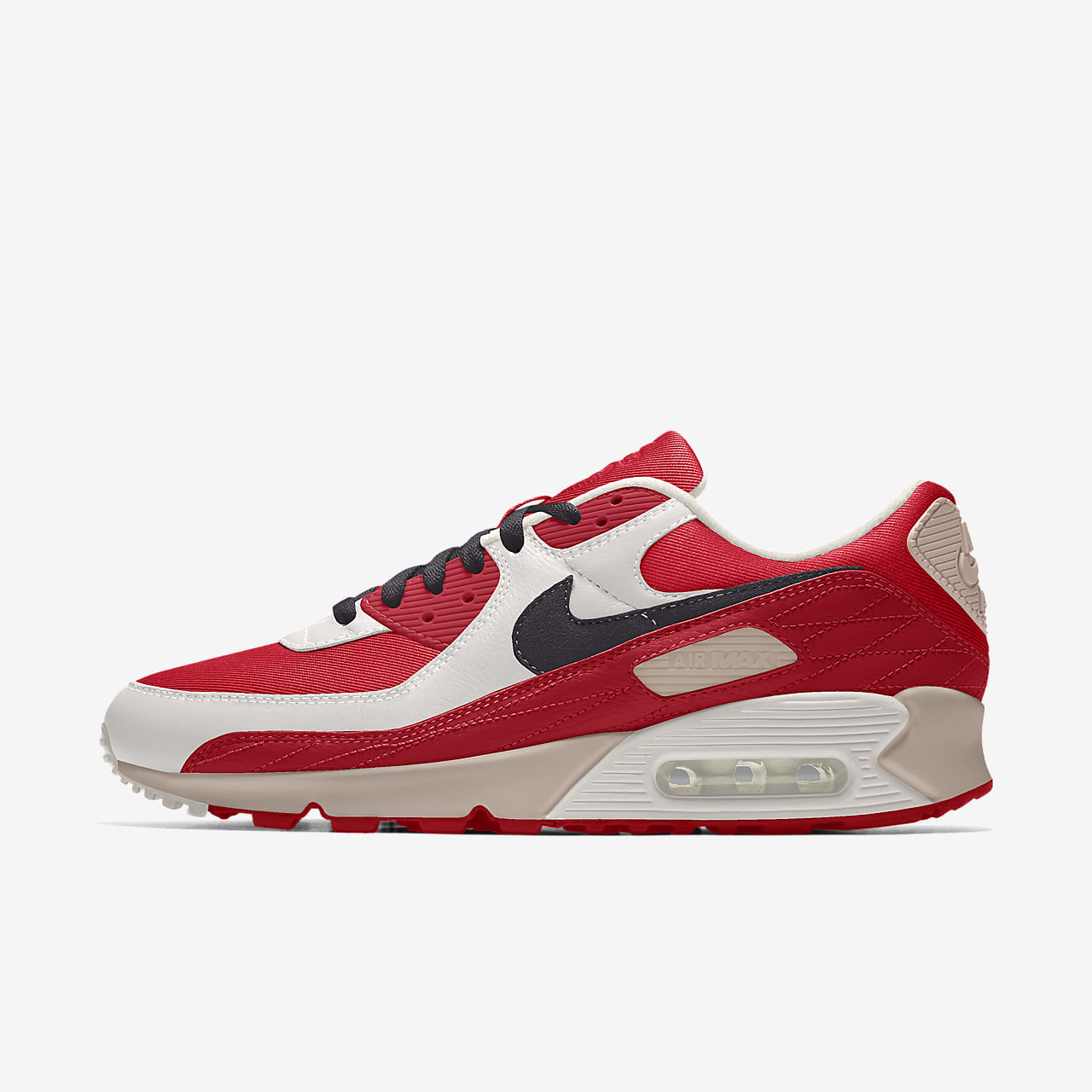 Chaussure personnalisable Nike Air Max 90 Unlocked By You pour Homme