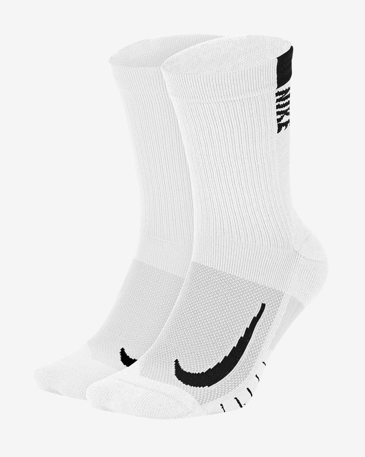 Nike Multiplier Crew Sock (2 Pairs)