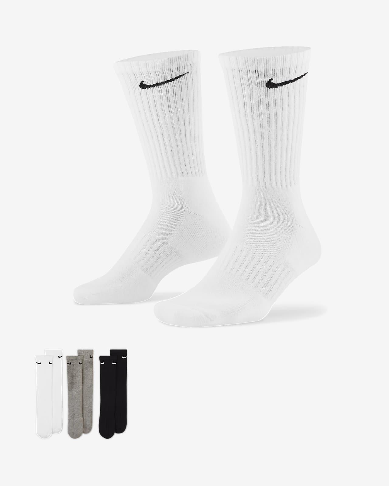 Nike Everyday Cushioned Mitjons alts d'entrenament (3 parells)