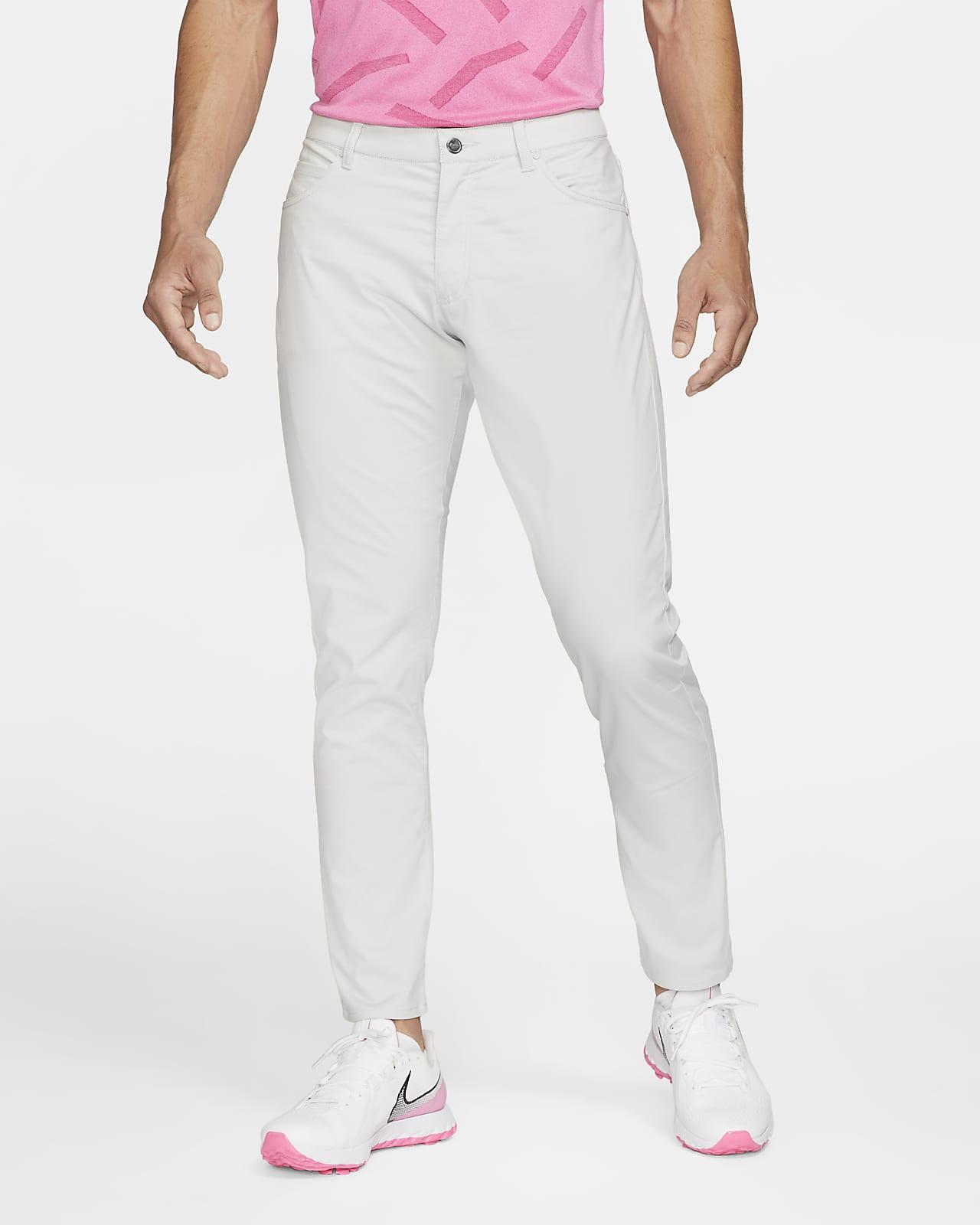 Pantalones de golf con 5 bolsillos de ajuste entallado para hombre Nike Flex