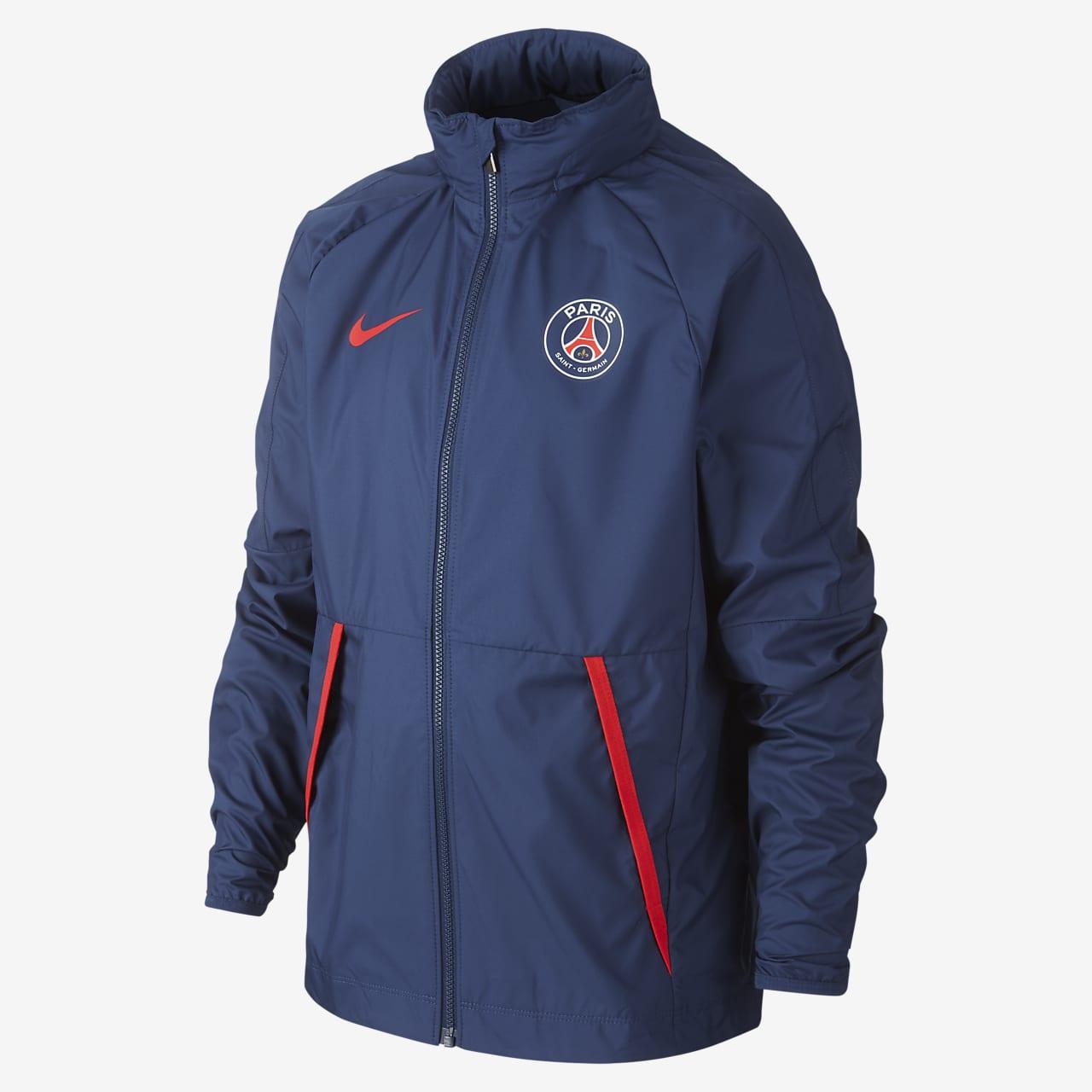 Chamarra de fútbol para niños grandes Paris Saint-Germain