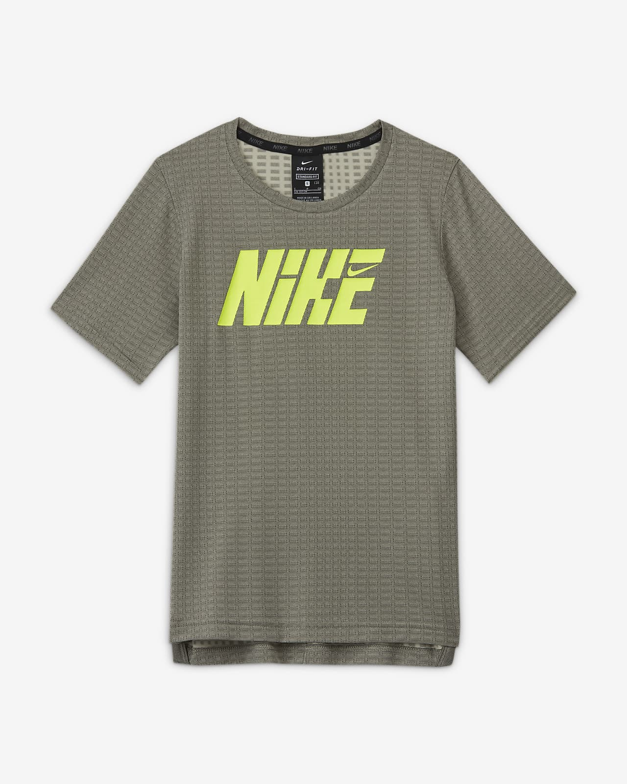 Nike Graphic Kısa Kollu Genç Çocuk (Erkek) Antrenman Üstü
