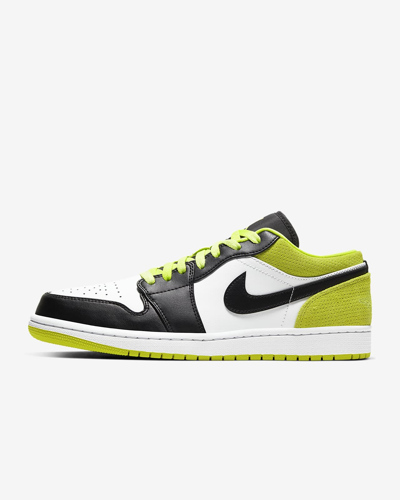 air jordan 1 low white gym yellow