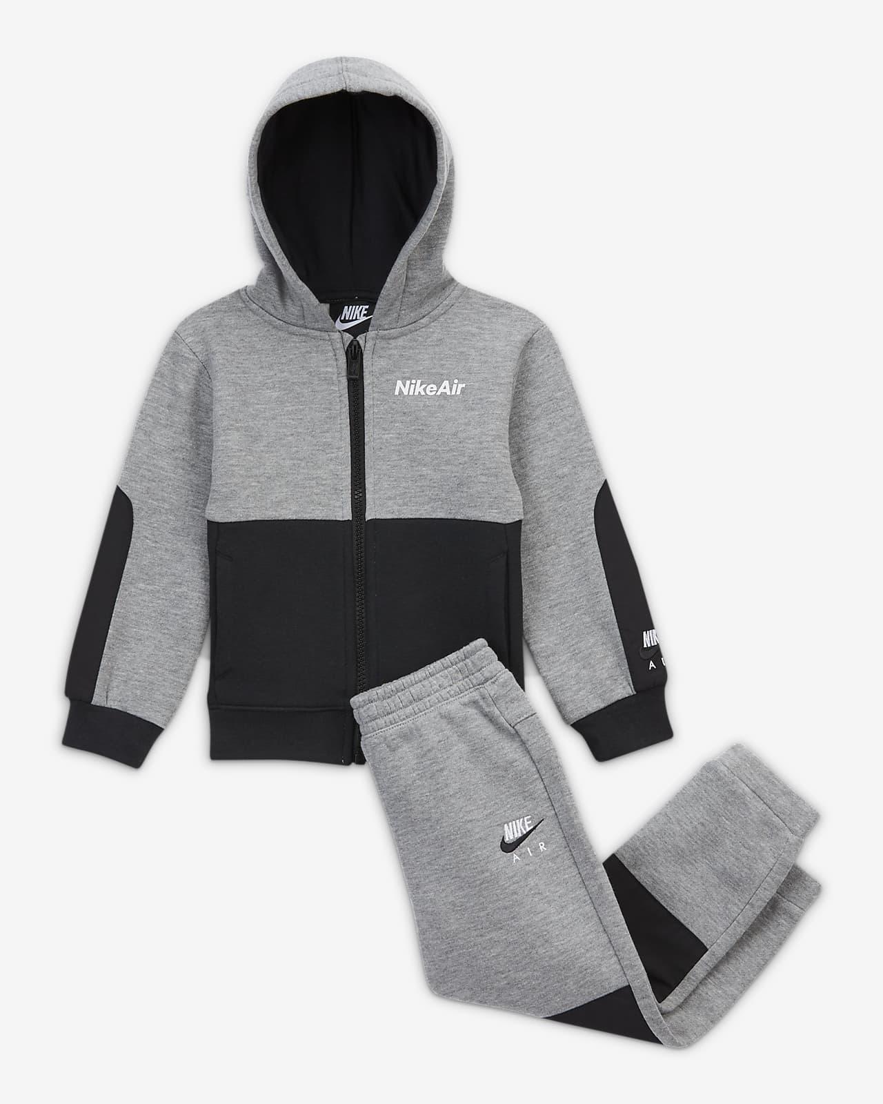 Nike Air Baby (12–24M) Zip Hoodie and Trousers Set