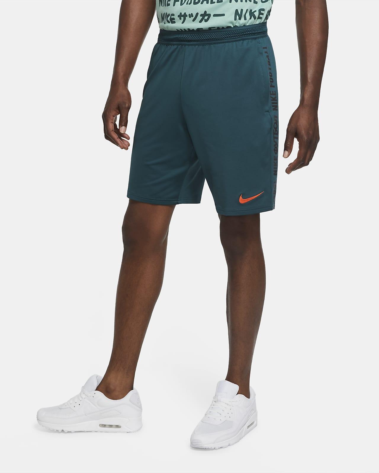 Nike F.C.-fodboldshorts i strik til mænd