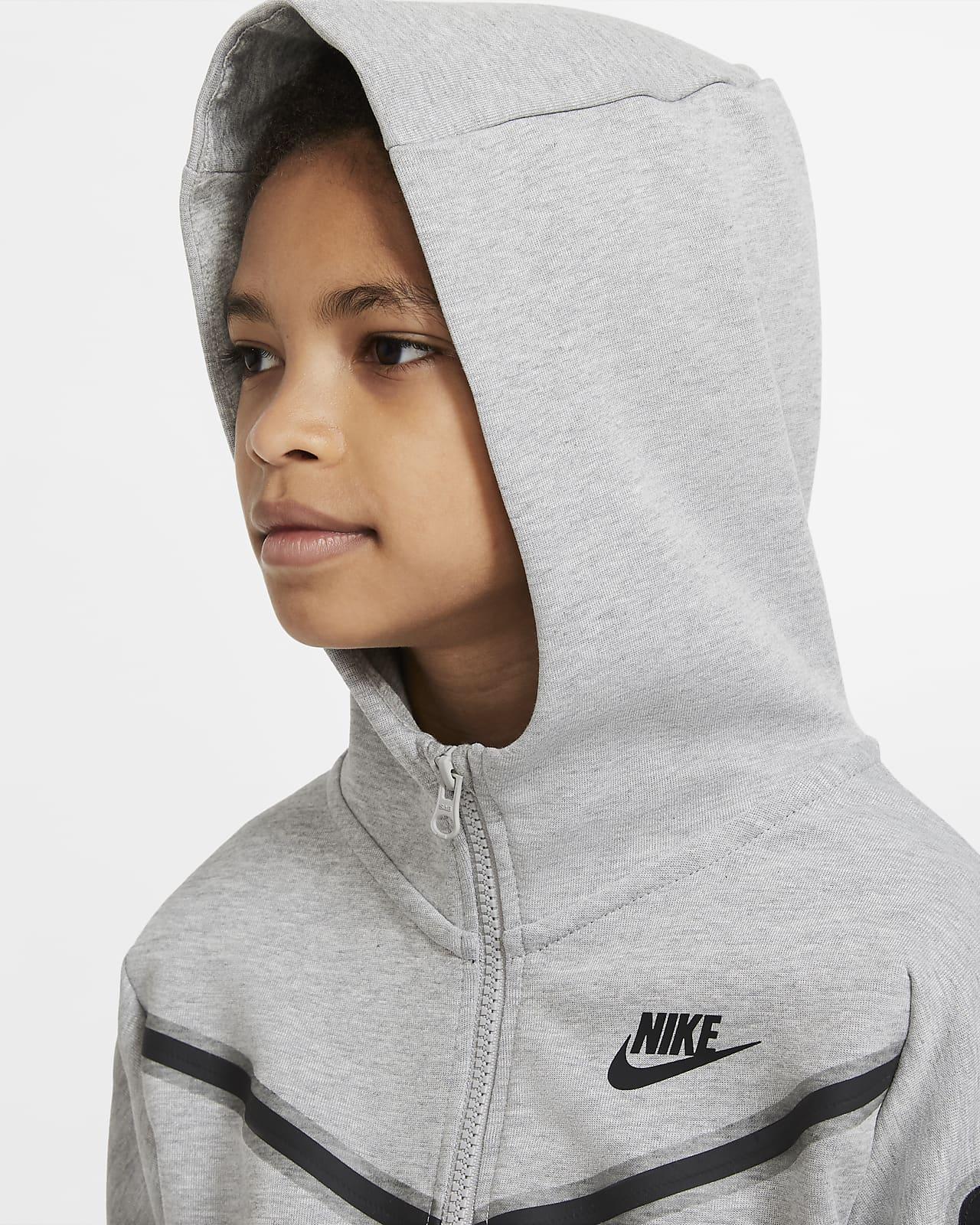 Nike Sportswear Tech Fleece Big Kids Boys Full Zip Hoodie Nike Com