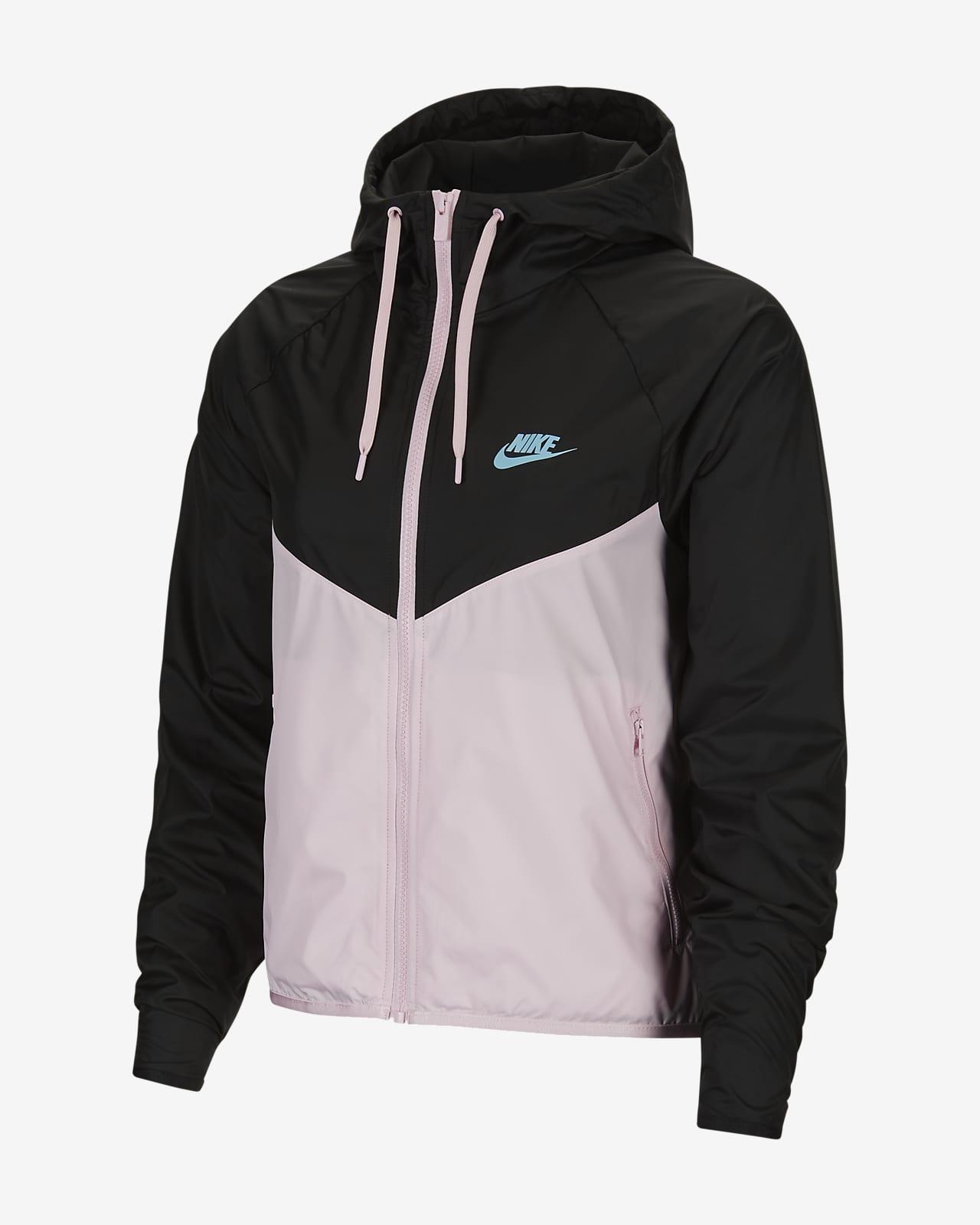 เสื้อแจ็คเก็ตผู้หญิง Nike Sportswear Windrunner