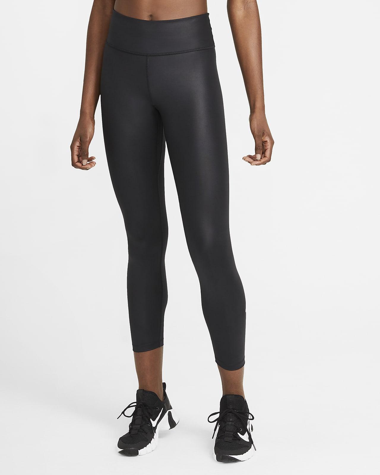 Nike One-7/8-leggings med mellemhøj talje til kvinder