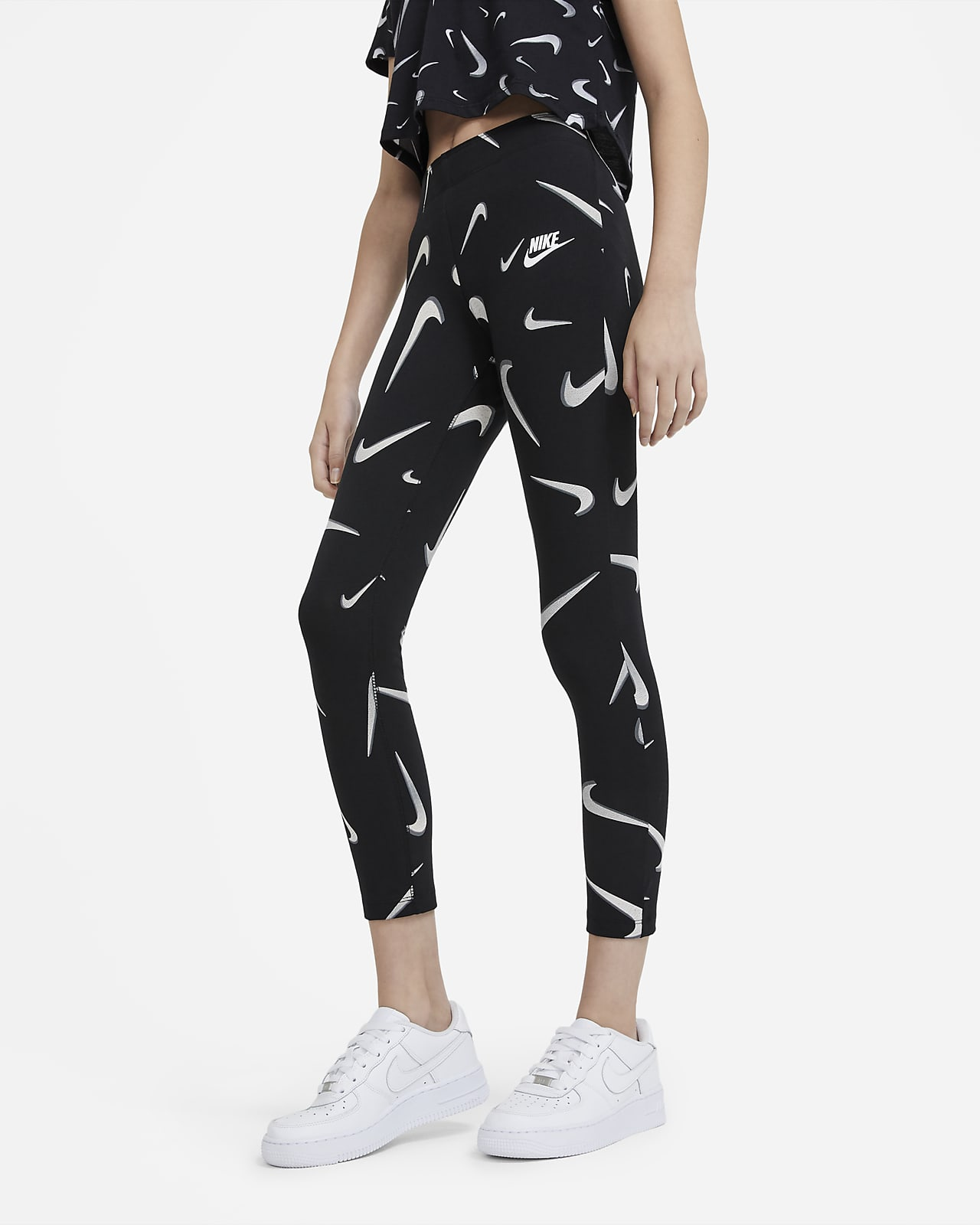 Leggings estampados para niña talla grande Nike Sportswear Favorites