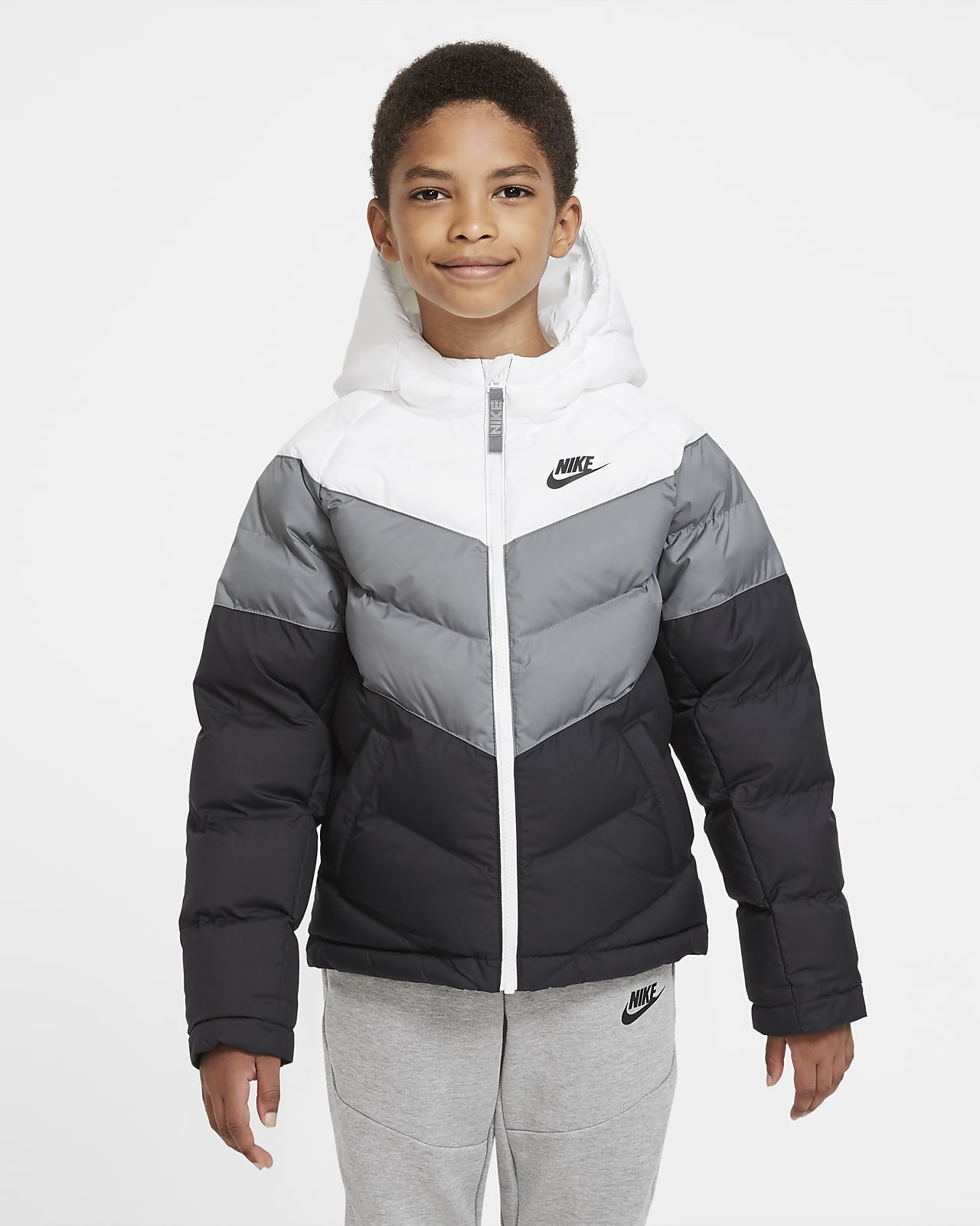 Nike Jacka Team Fall Svart Barn