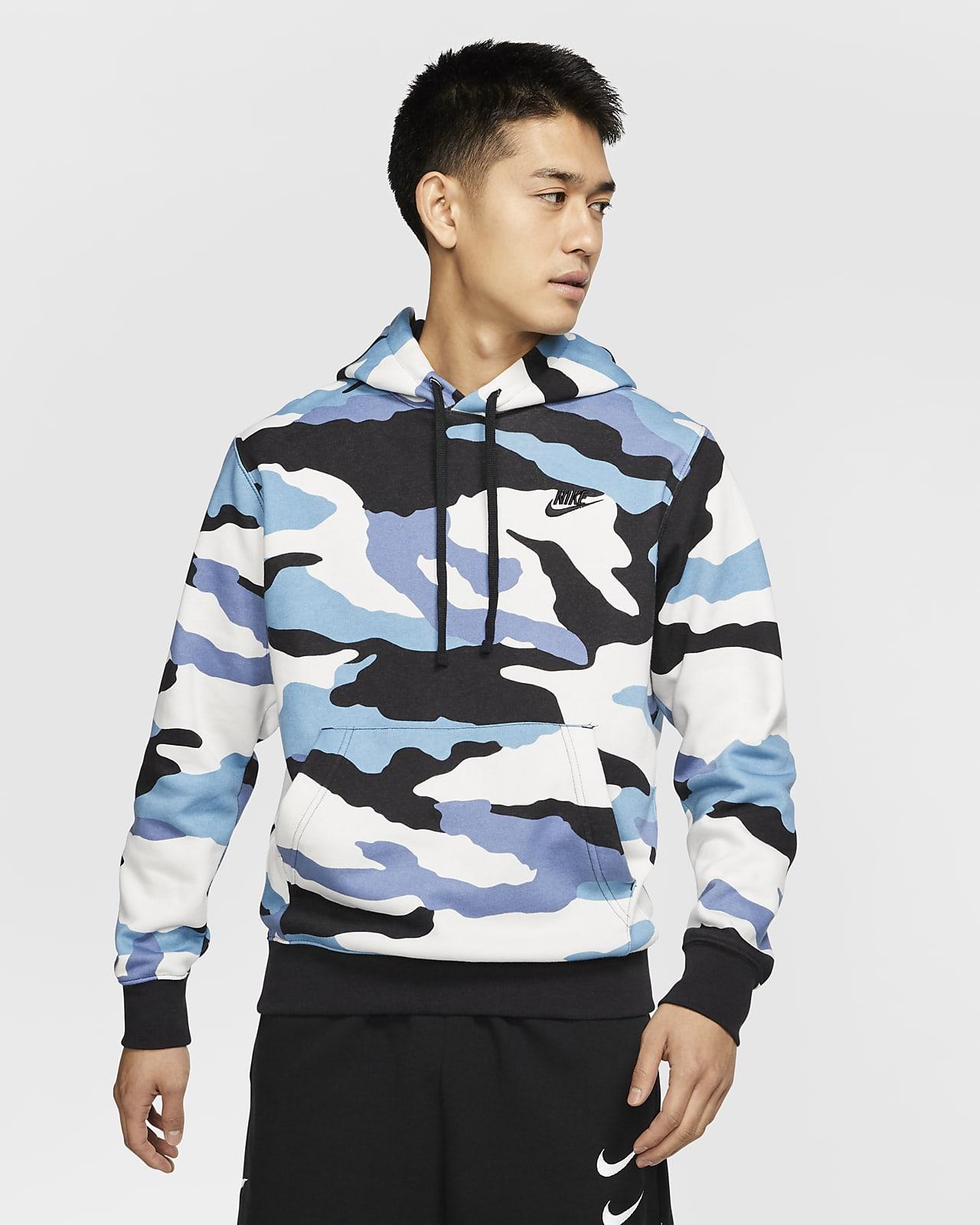 Camo Pullover Hoodie. Nike