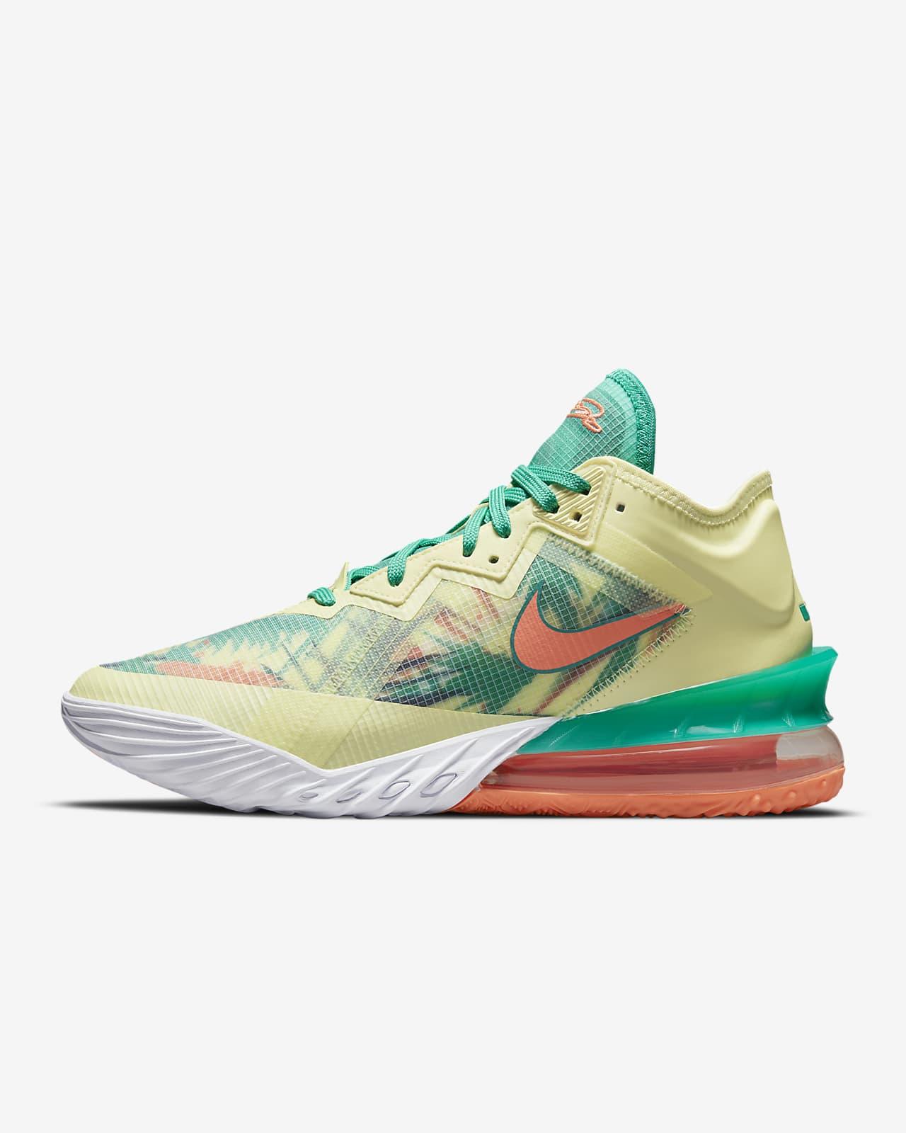 "LeBron 18 Low ""Summer Refresh"" Basketball Shoe"