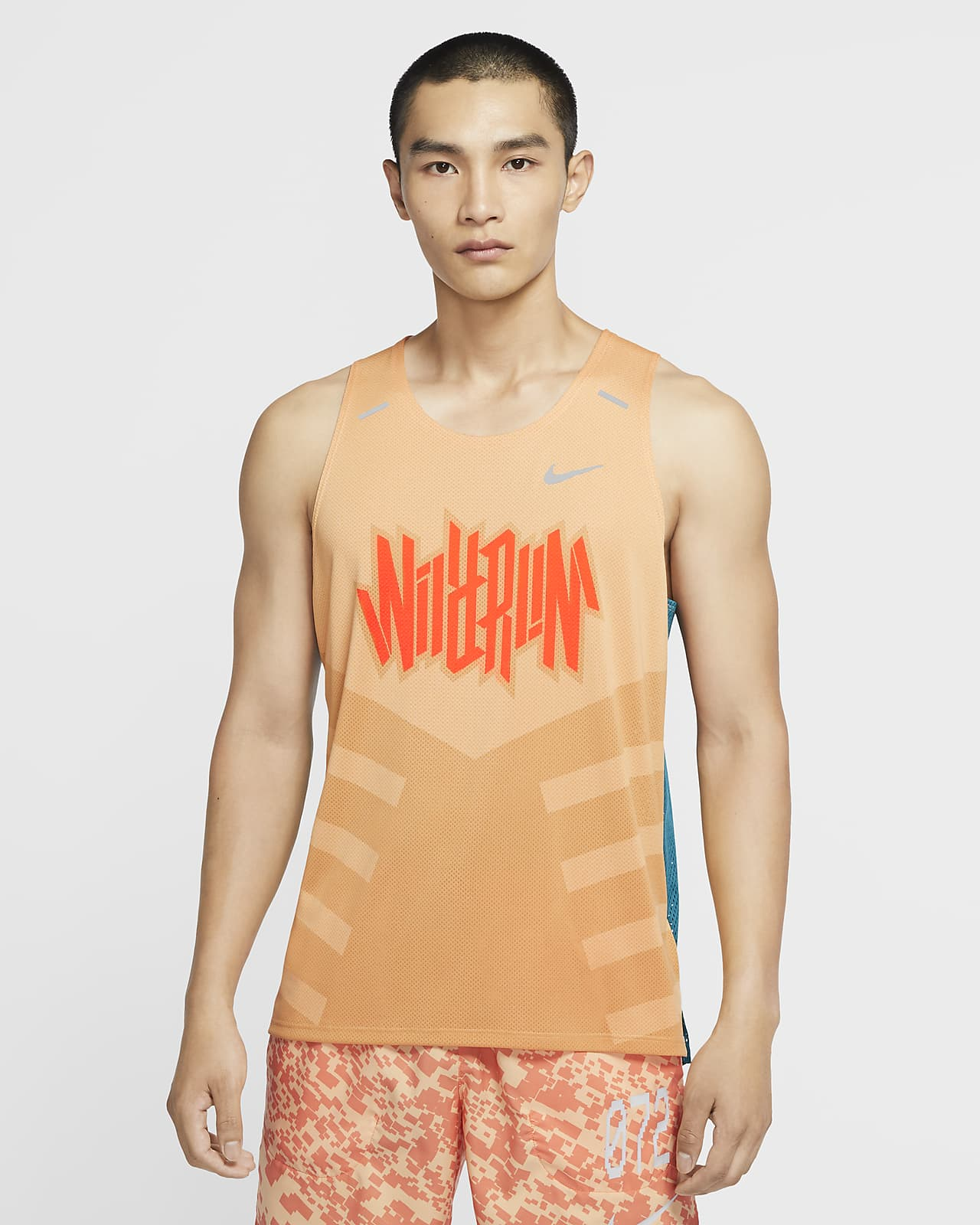 Nike Dri-FIT Rise 365 Wild Run Men's Running Tank