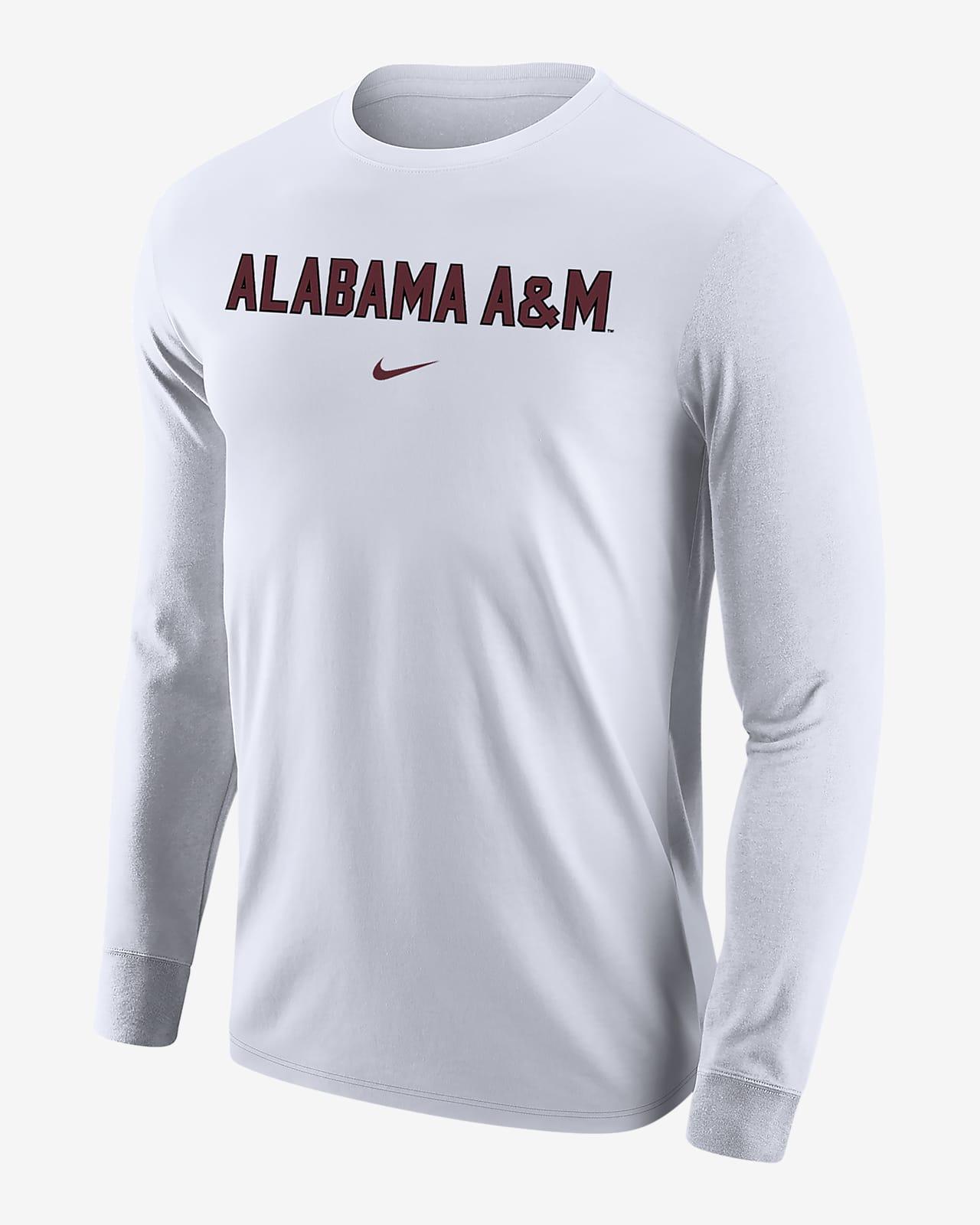 Nike College (Alabama A&M) Men's Long-Sleeve T-Shirt