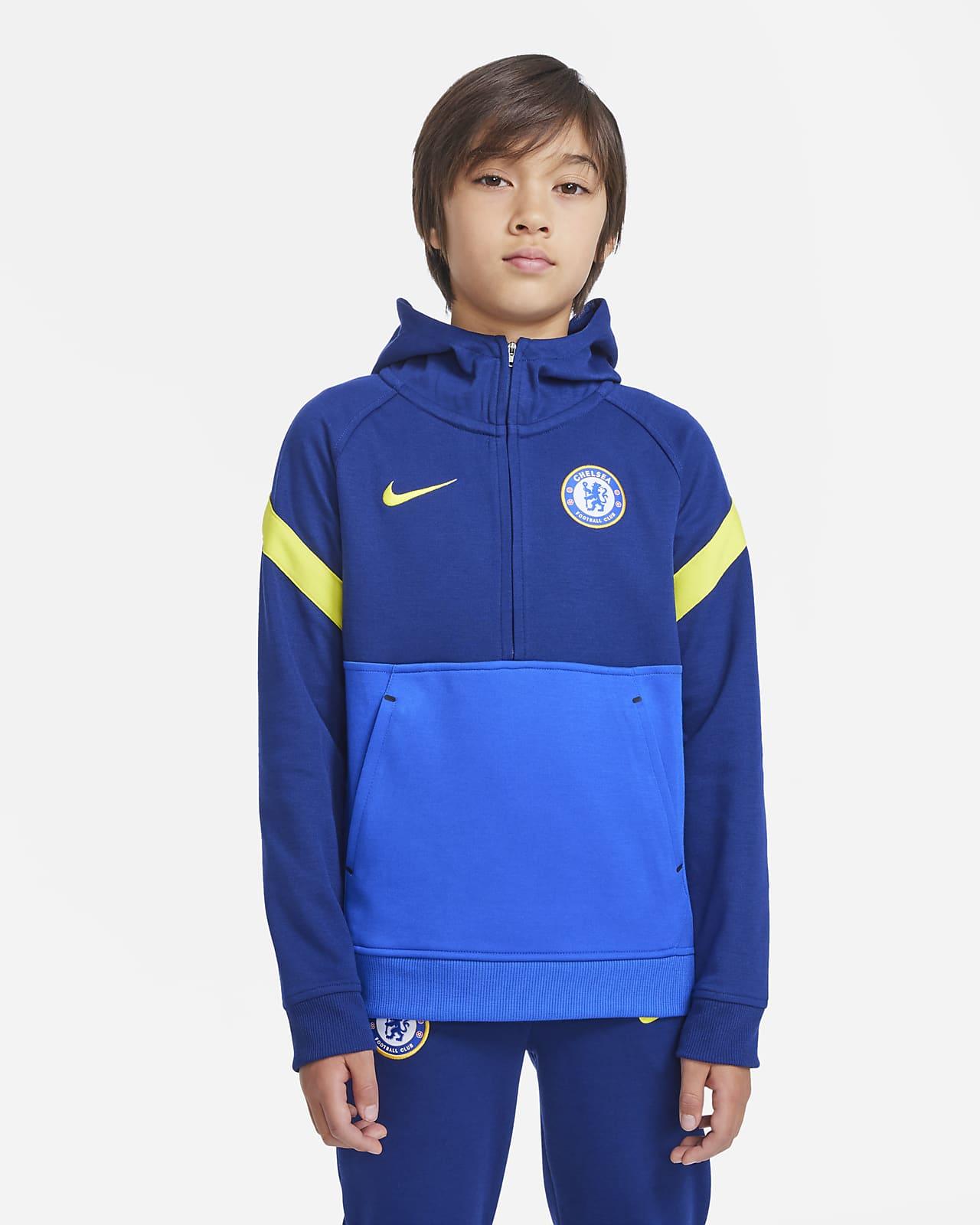 Chelsea F.C. Older Kids' Nike Dri-FIT Football Hoodie