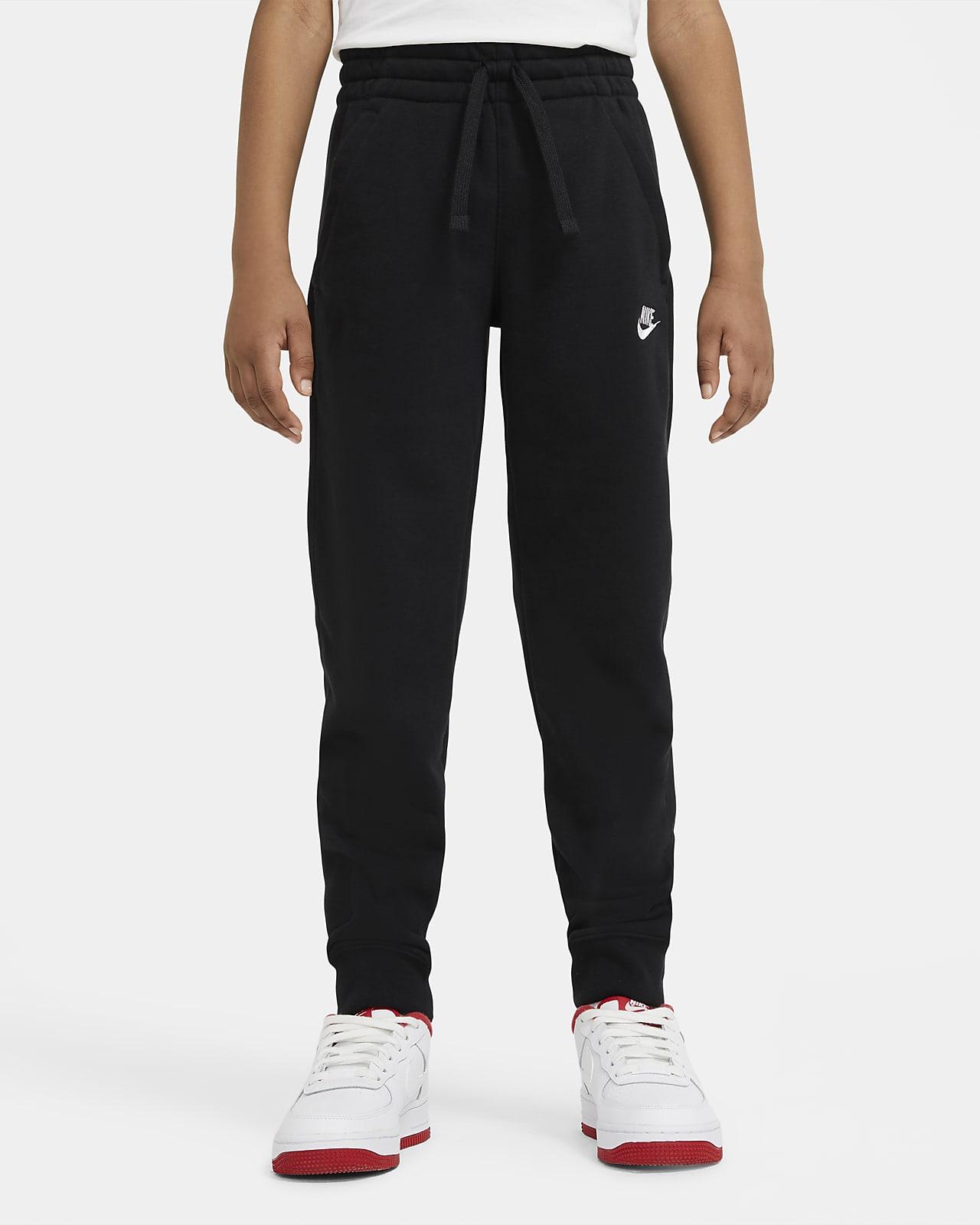 Calças em tecido moletão Nike Sportswear Club Júnior (Rapaz)