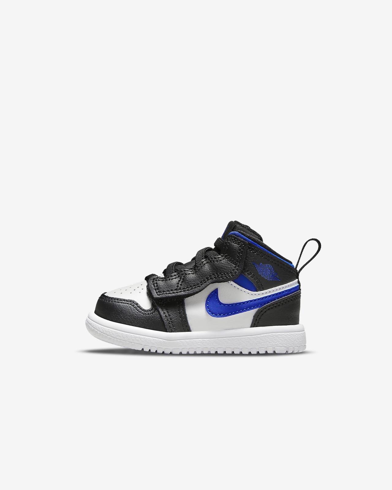 Jordan 1 Mid sko til sped-/småbarn