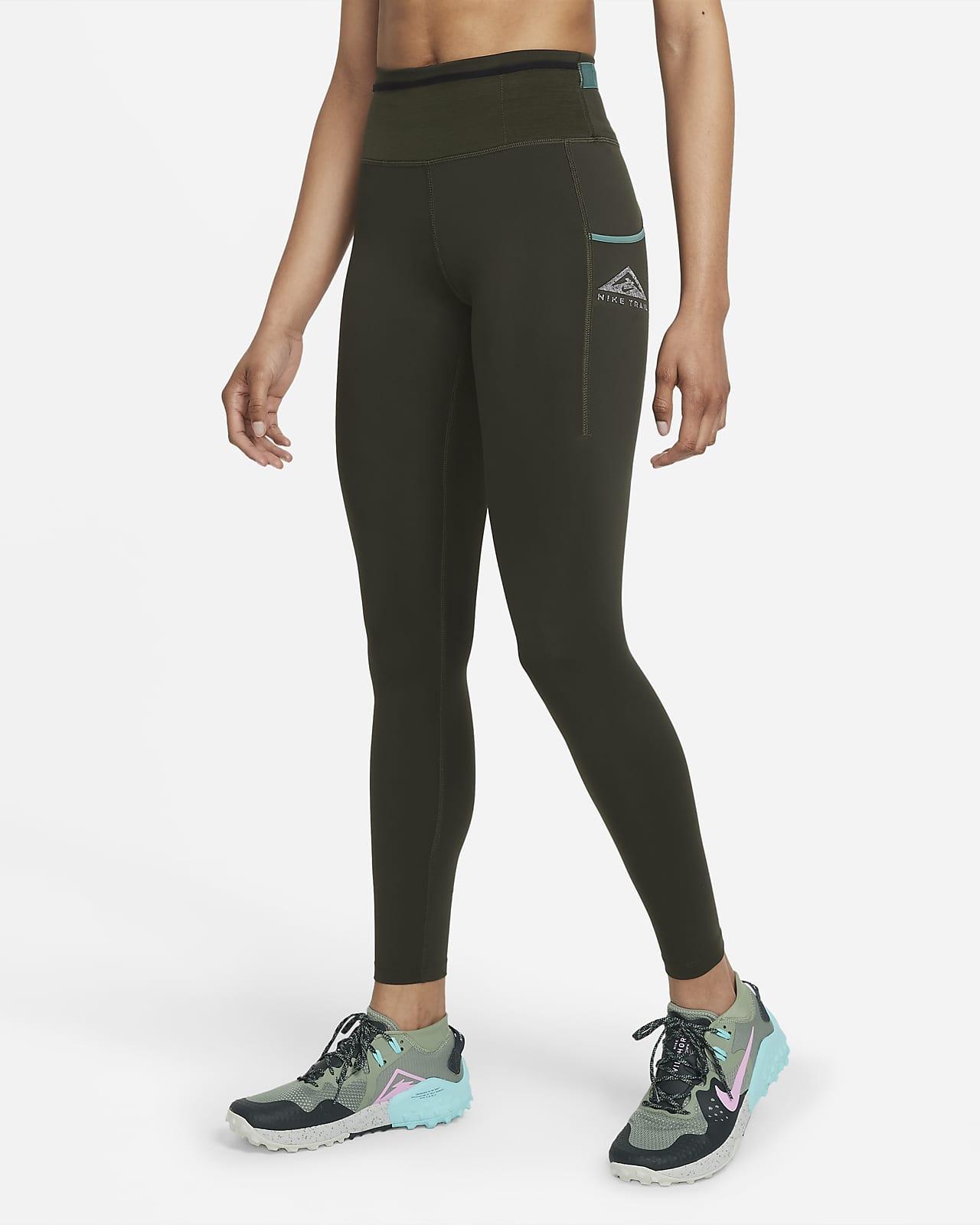 Dámské trailové běžecké legíny Nike Epic Luxe se středně vysokým pasem