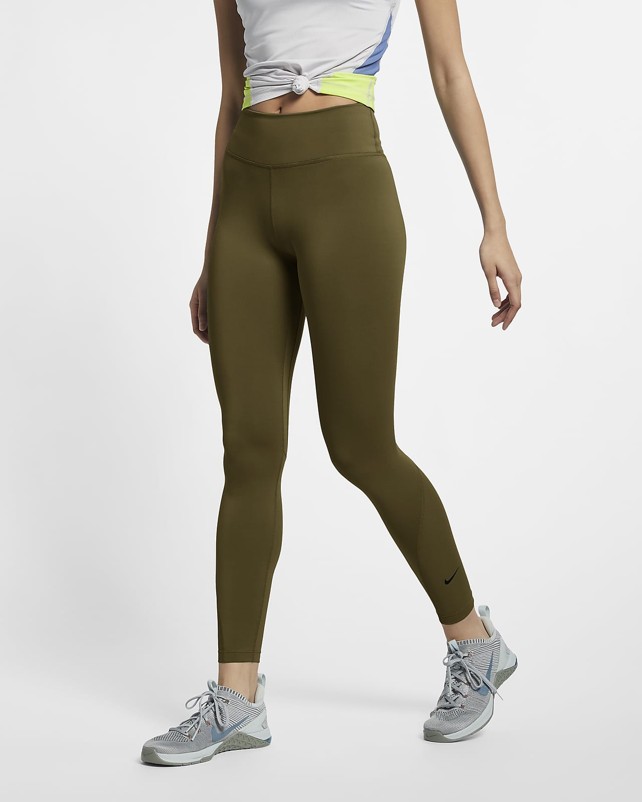 Nike One Women's Mid-Rise 7/8 Tights