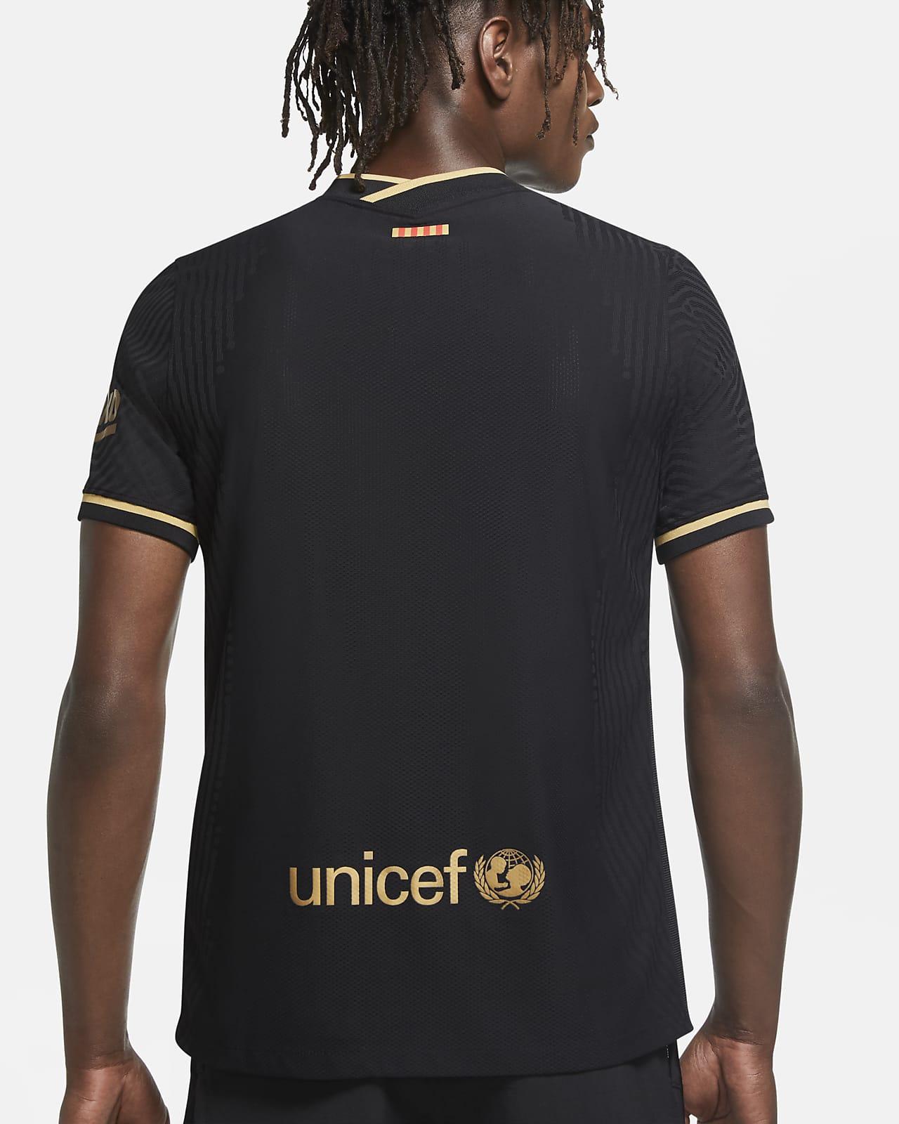 F C Barcelona 2020 21 Vapor Match Away Men S Football Shirt Nike Lu