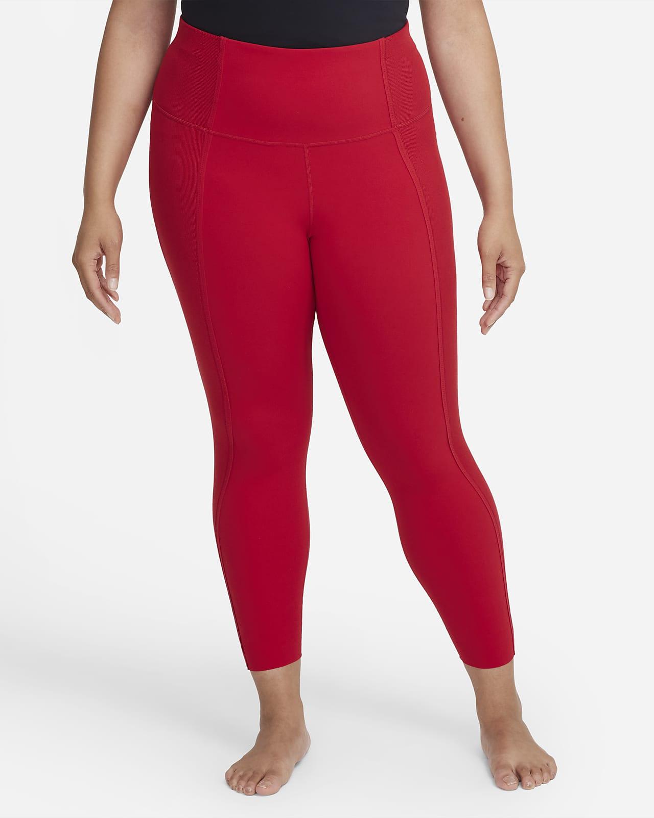 Leggings de tela Infinalon y cintura alta de 7/8 para mujer Nike Yoga Luxe Dri-FIT (talla grande)