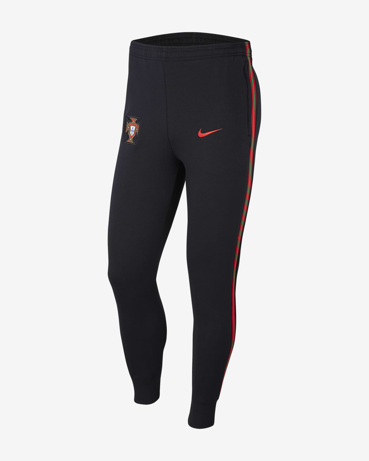 Pánské flísové fotbalové kalhoty Portugalsko