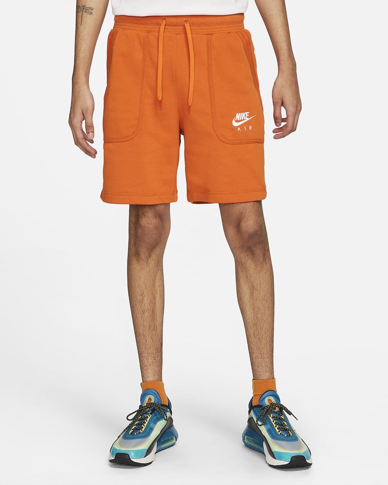 Calções em tecido moletão Nike Air para homem