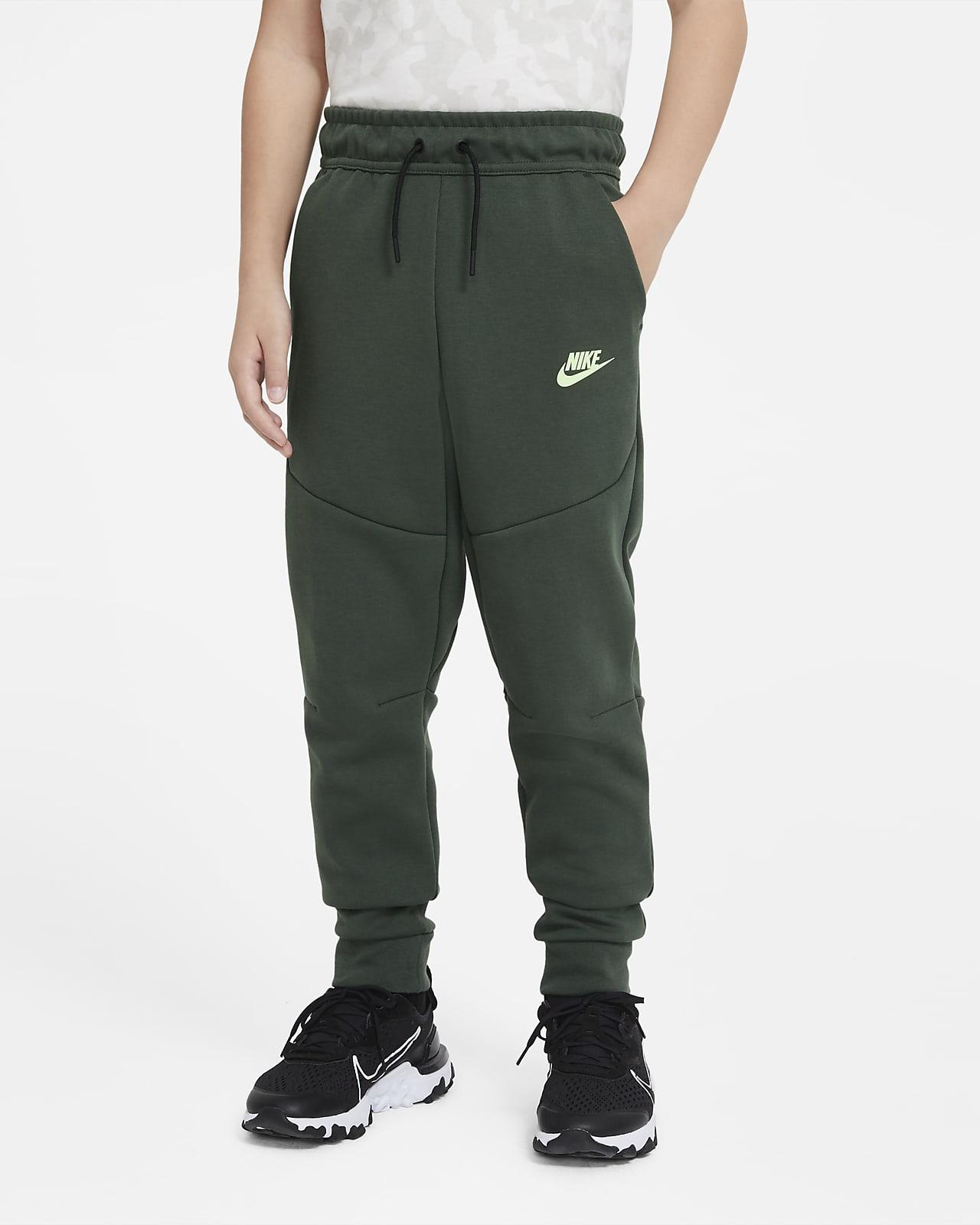 Nike Sportswear Tech Fleece bukse for store barn (gutt)