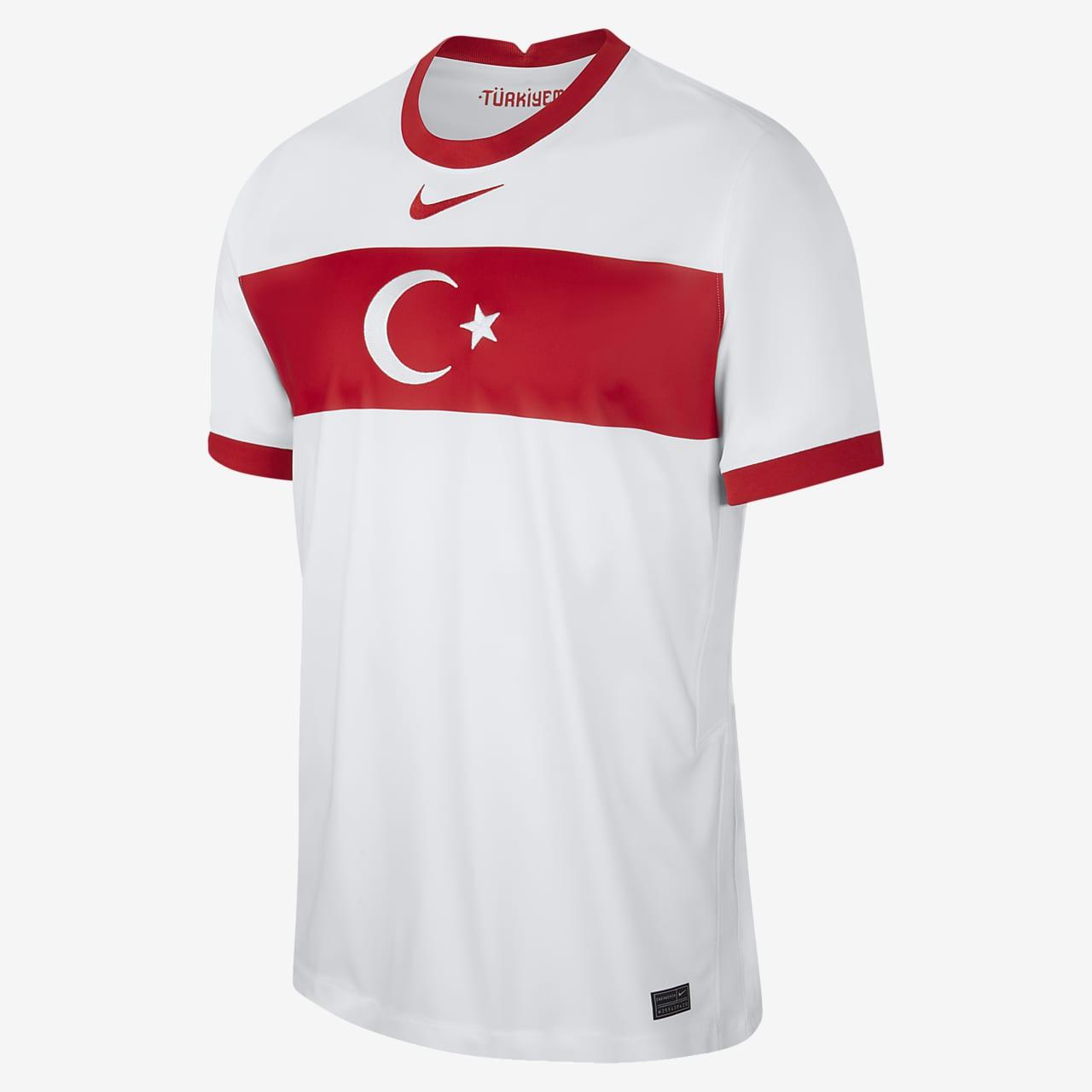 Camiseta de fútbol de local para hombre Stadium de Turquía 2020