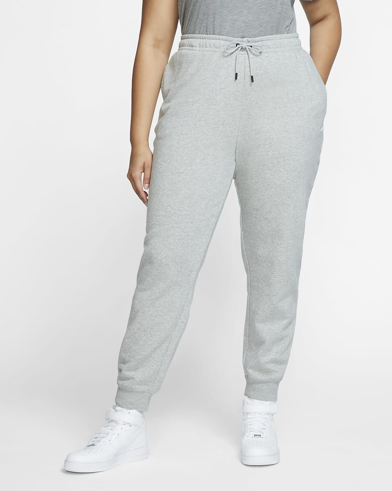 Dámské flísové kalhoty Nike Sportswear Essential (větší velikost)