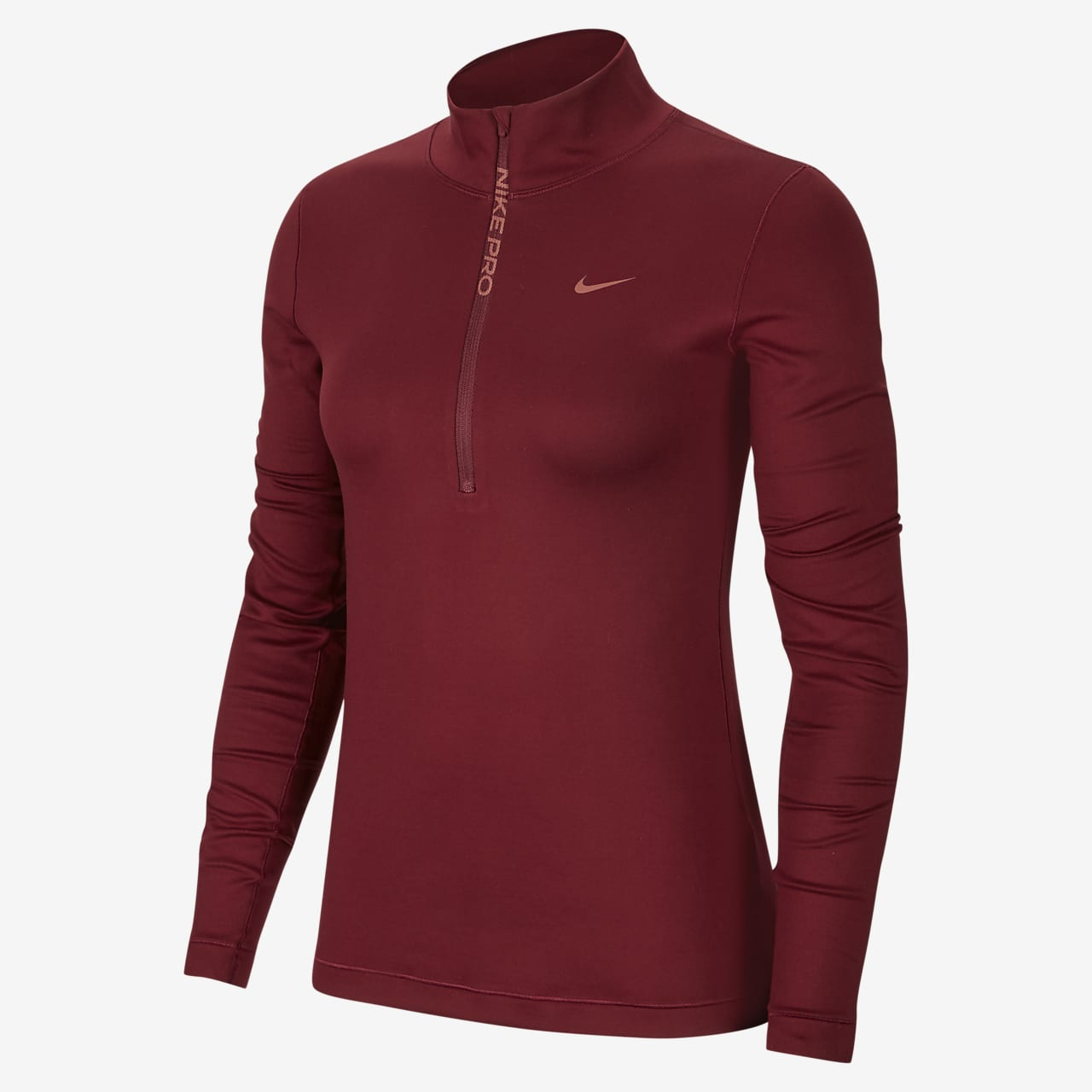 Nike Pro Warm Women's Long-Sleeve 1/2-Zip Top