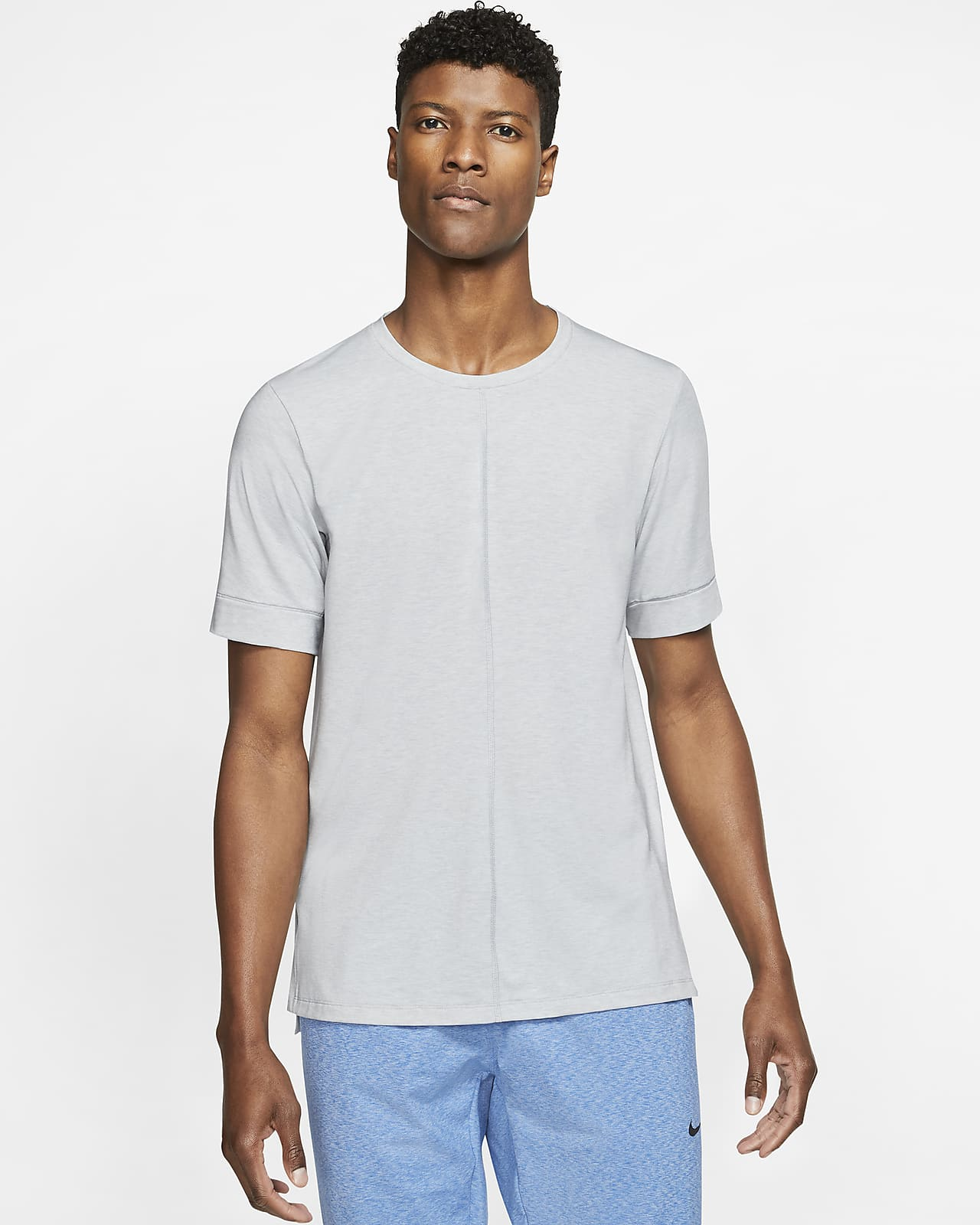 Nike Yoga Dri-FIT Men's Short-Sleeve Top