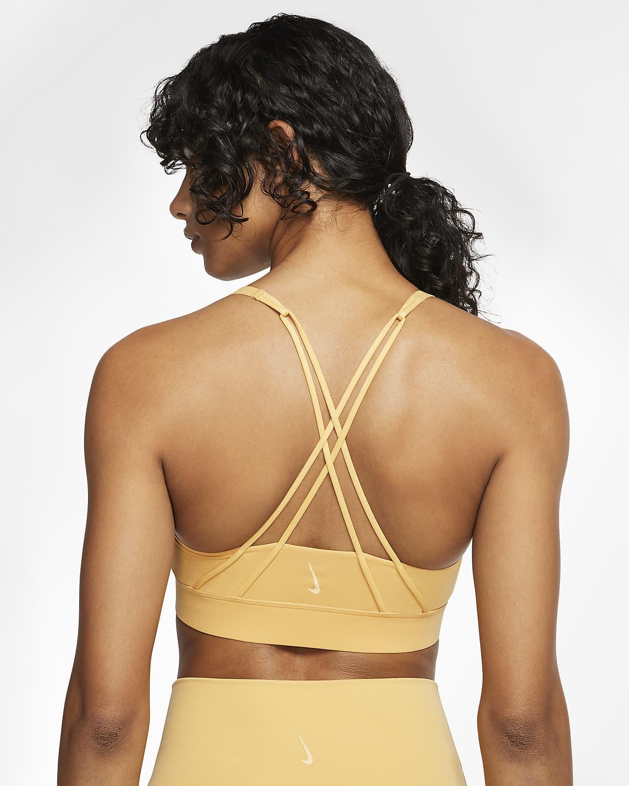 Nike Swoosh Luxe-sports-bh med medium støtte til kvinder