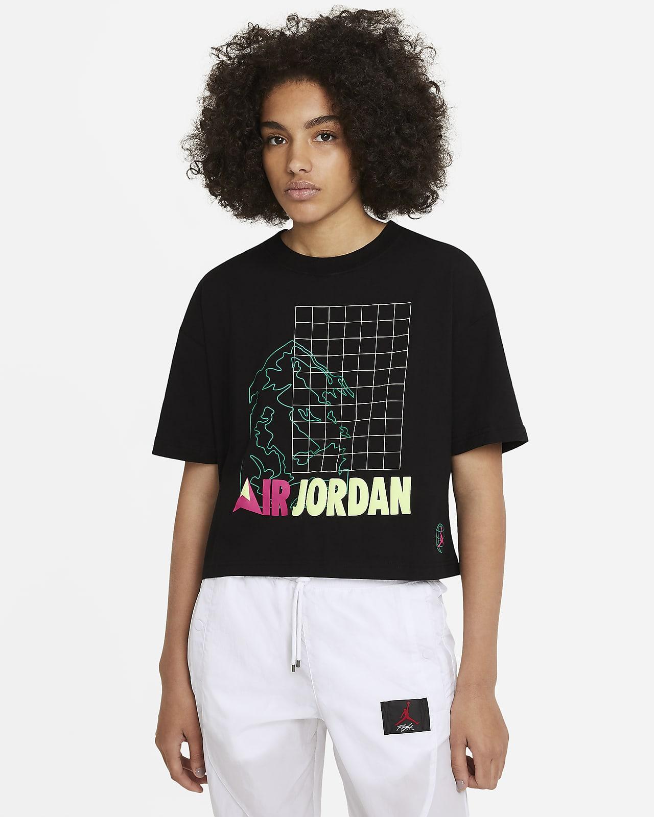 Jordan Winter Utility Women's Short-Sleeve Boxy T-Shirt
